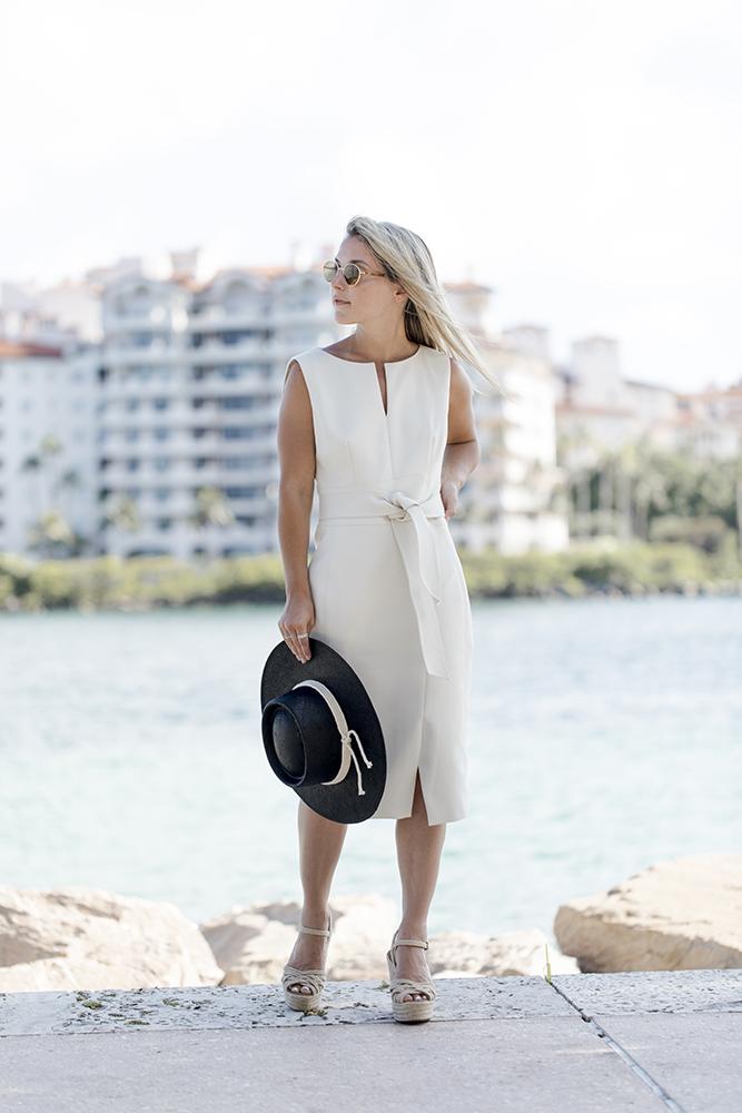 karen millen white dress