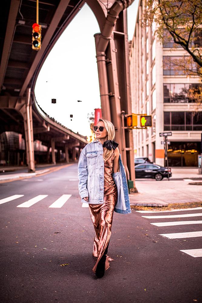 denim-jacket-velvet-dress