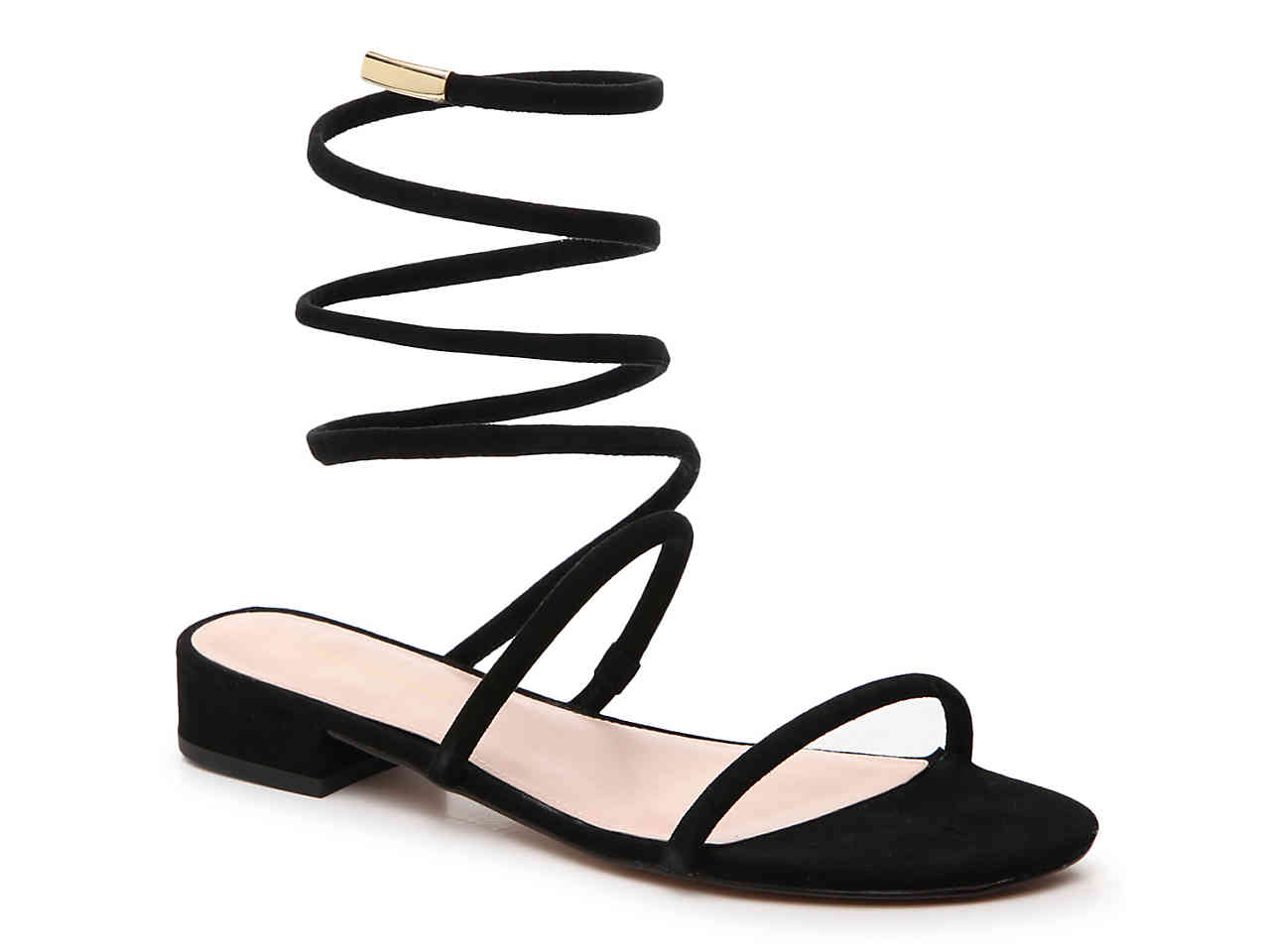 Shop these coil ankle strap sandals by clicking on the image or  HERE .