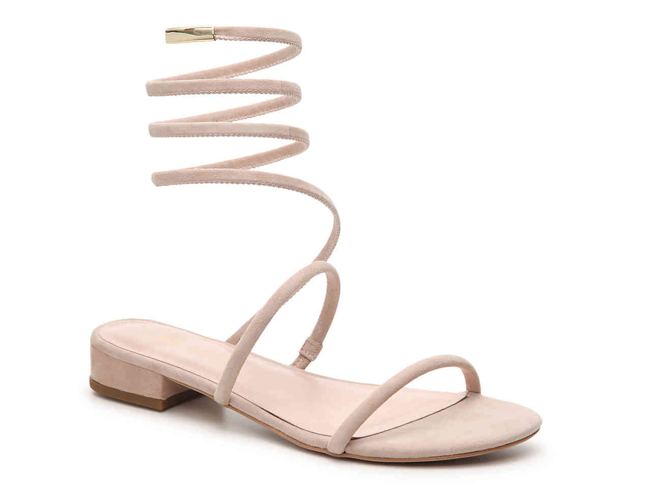 Shop these coil ankle strap sandals by clicking on the image or  HERE.