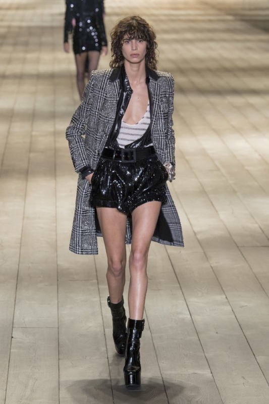 Saint Laurent look used for the Runway Look for Less inspiration.