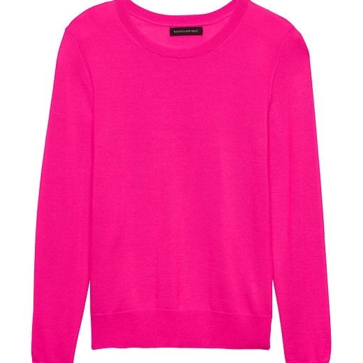 pink-sweater-banana-republic