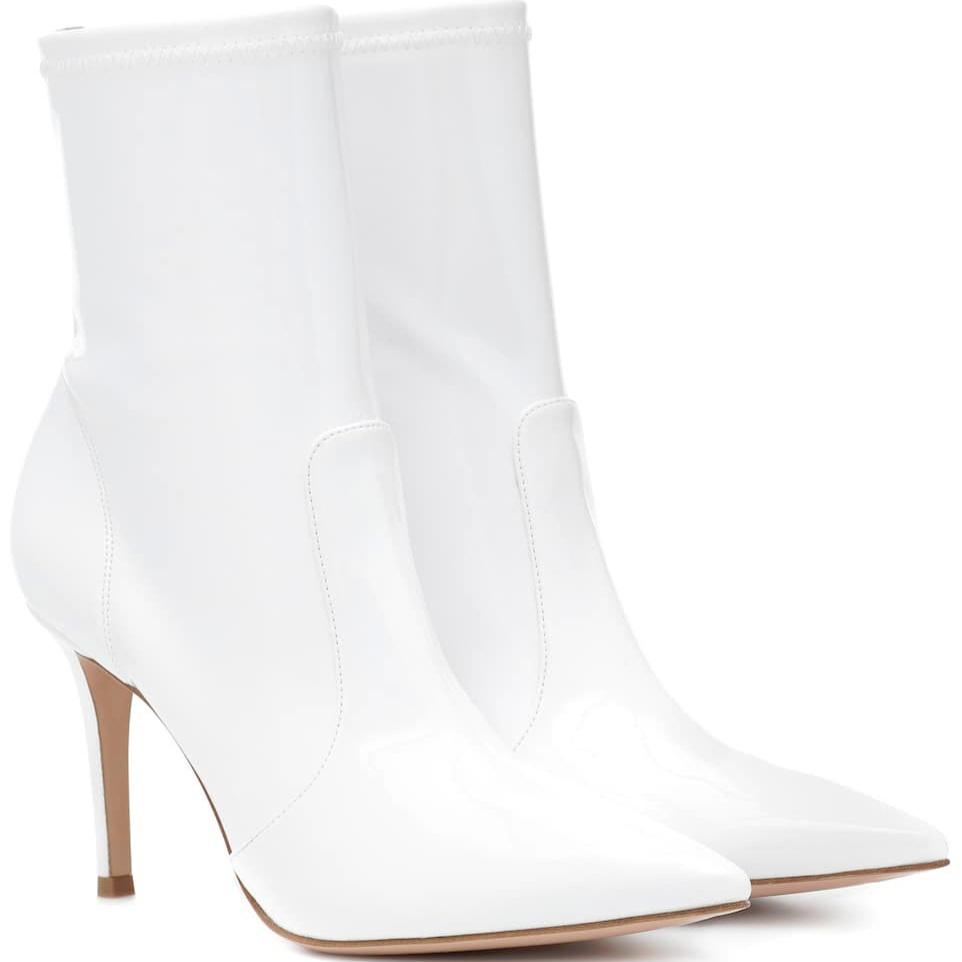 gianvito-rossi-white-vinyl-ankle-booties