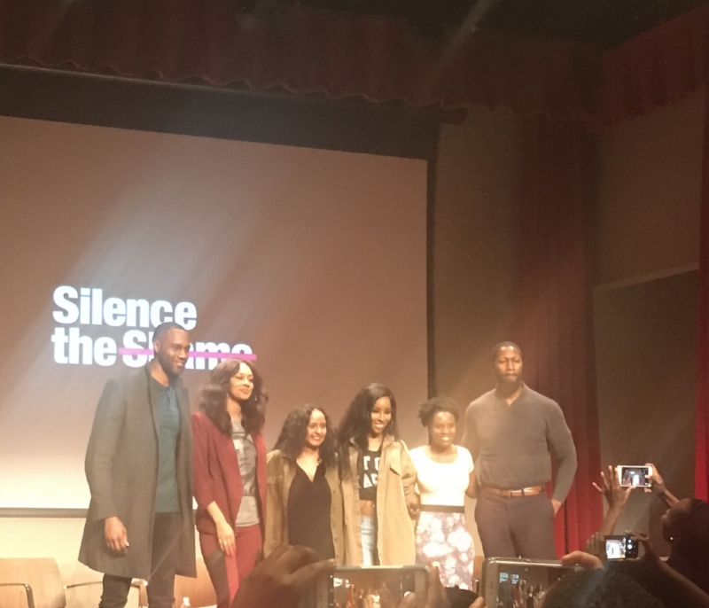 (L-R) James Bland, Keri Wilson, Shanti Das, Necole Kane, Dr. Ayanna Abrams & Vaughn Gay