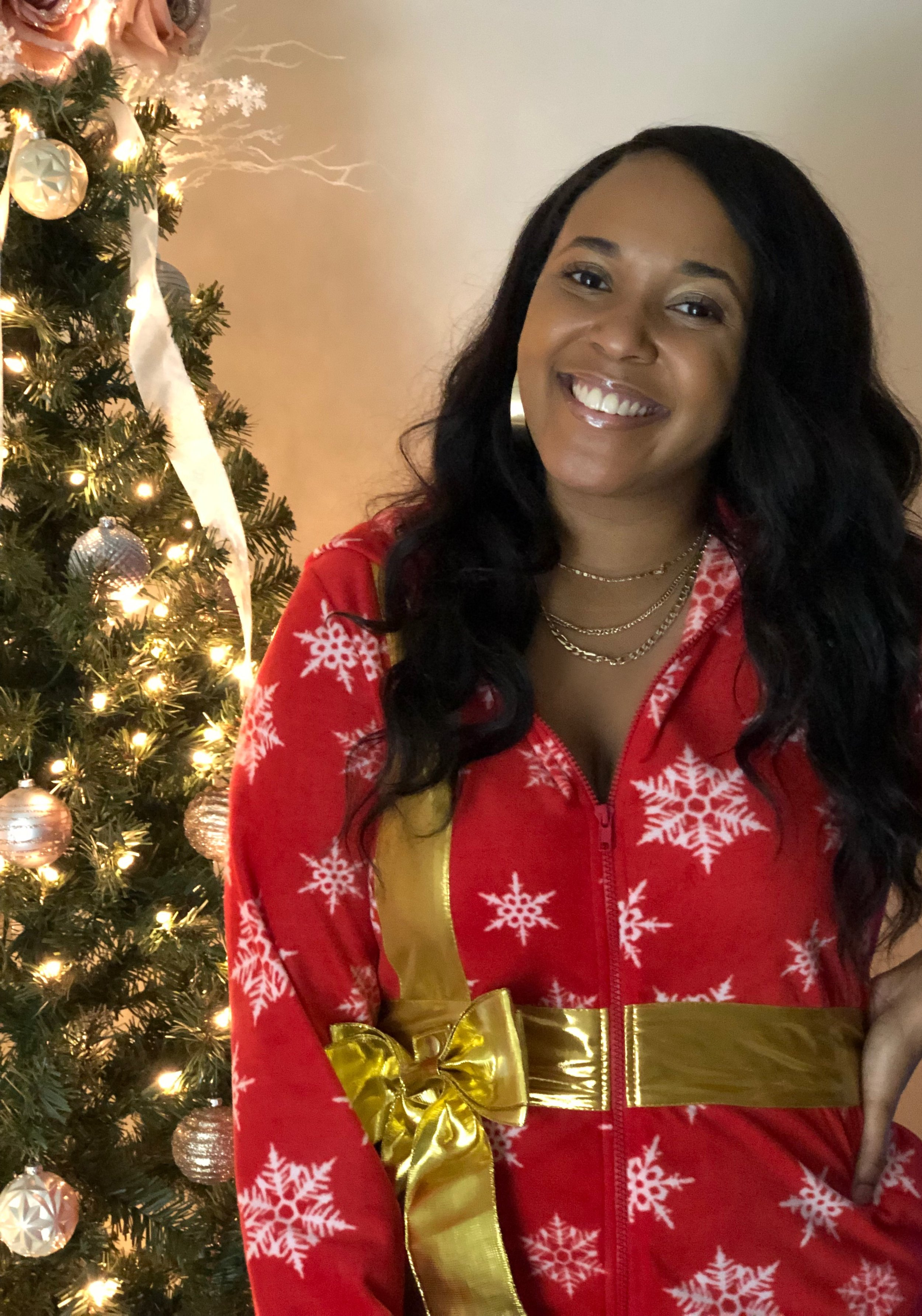 Just sharing to show off my onesie… 'cause I'm a gift, get it? LOL.