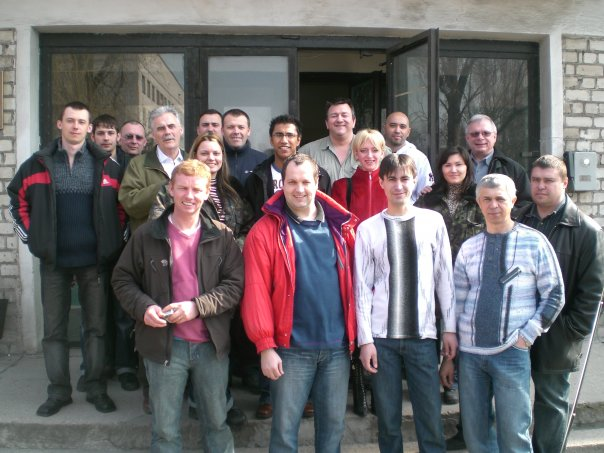 Friends and Colleagues in Ukraine – 2007