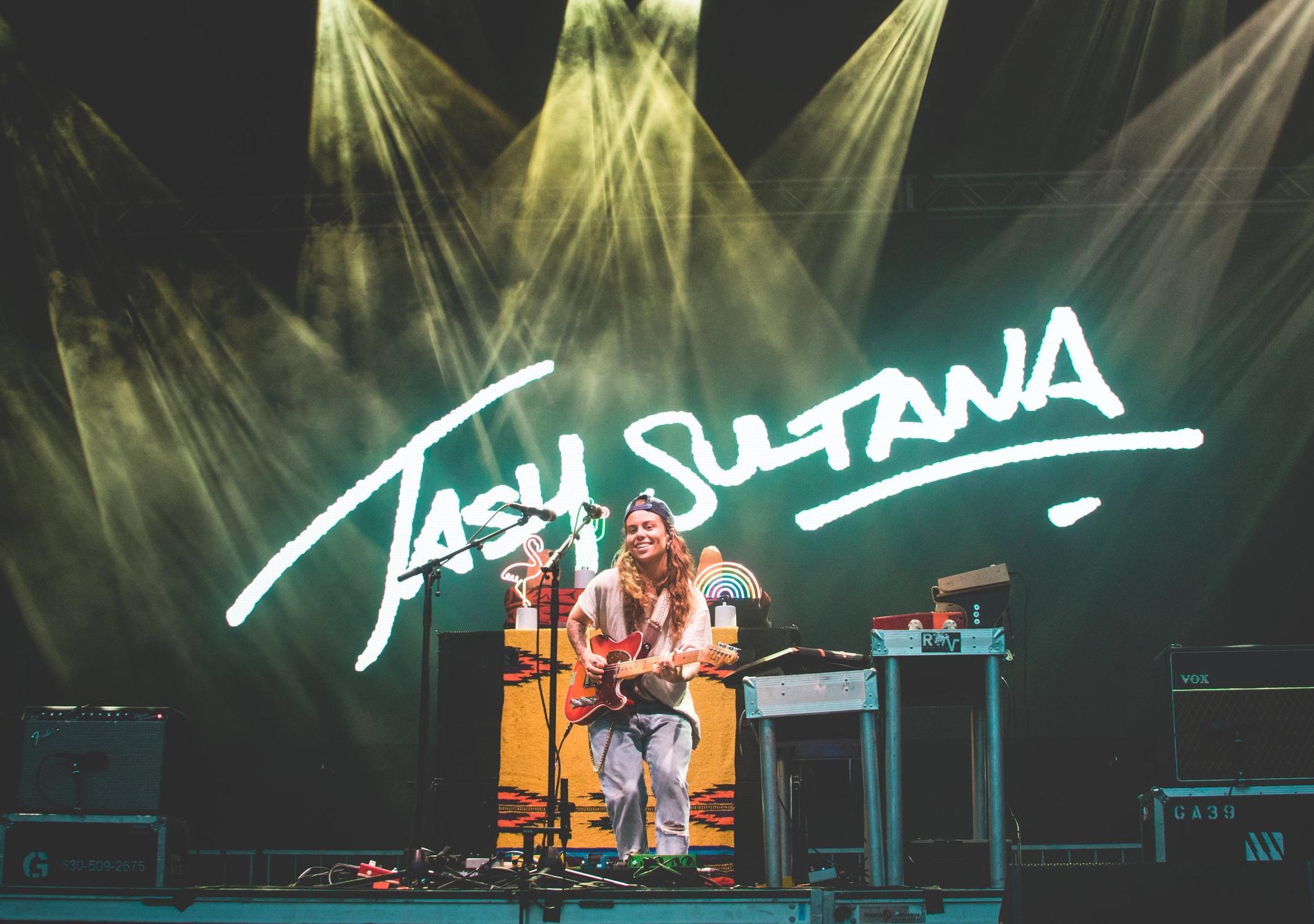 Tash Sultana @ Lollapalooza 2018