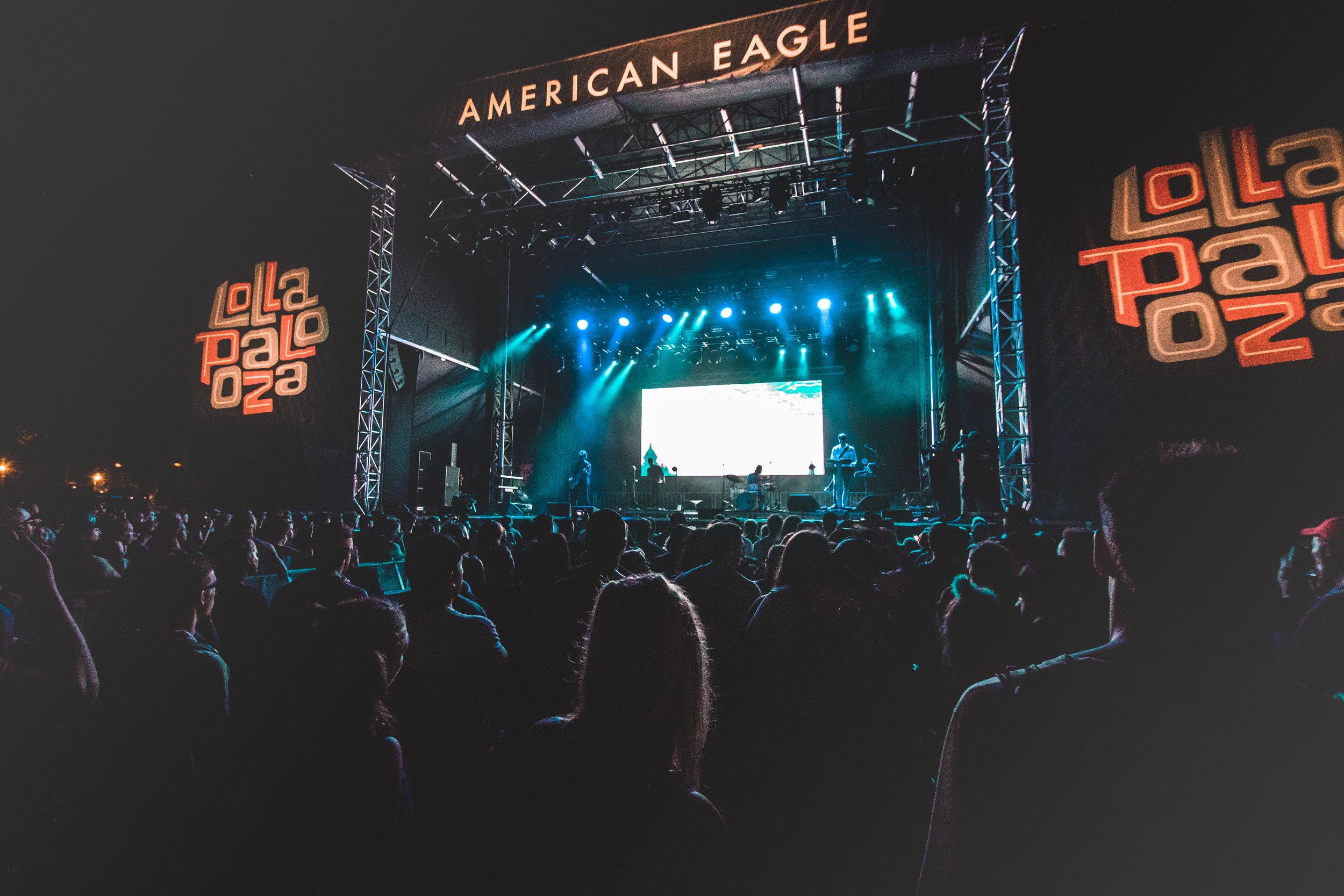 Tycho at Lollapalooza 2018