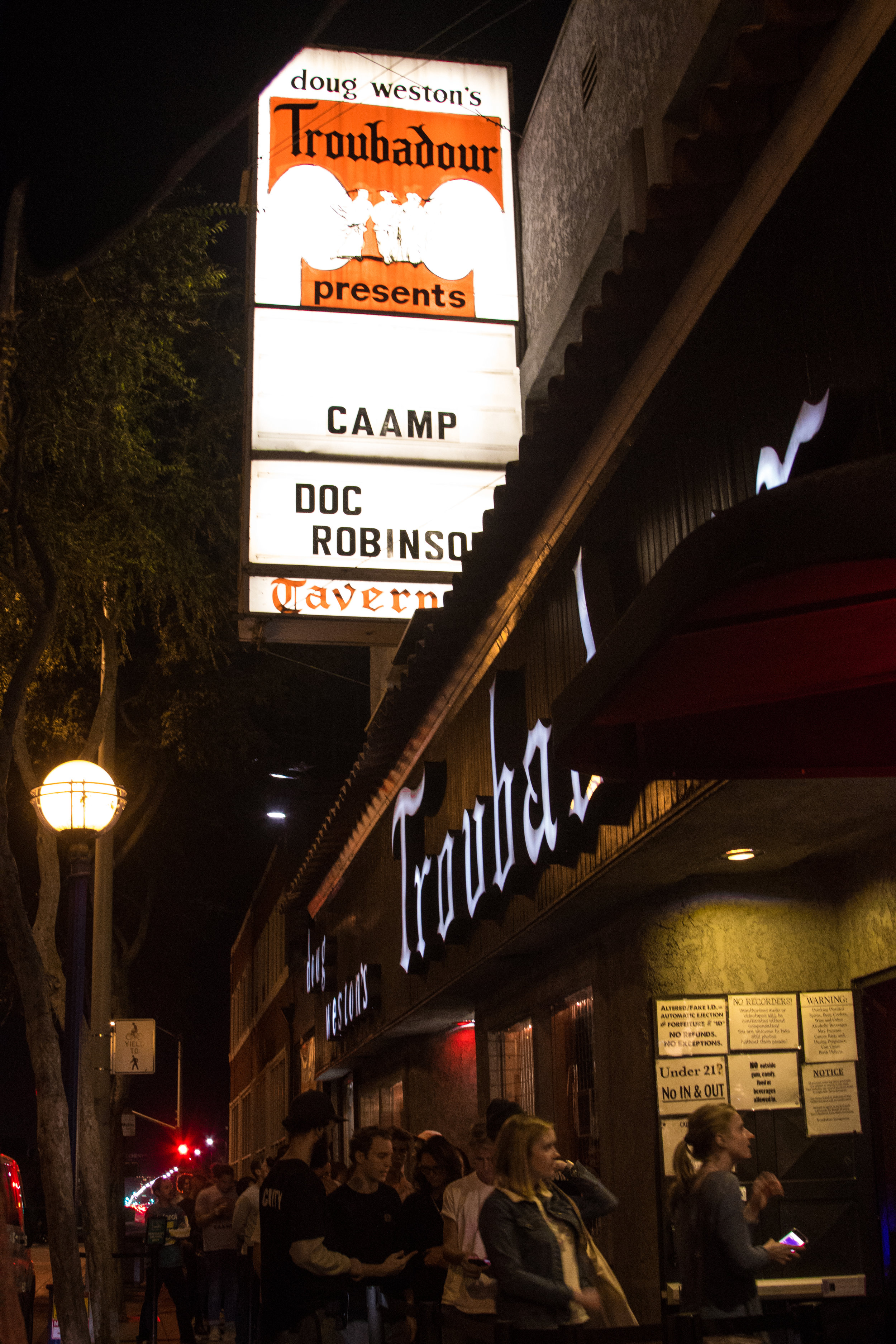 Sold Out Show #5 at The Troubadour - West Hollywood