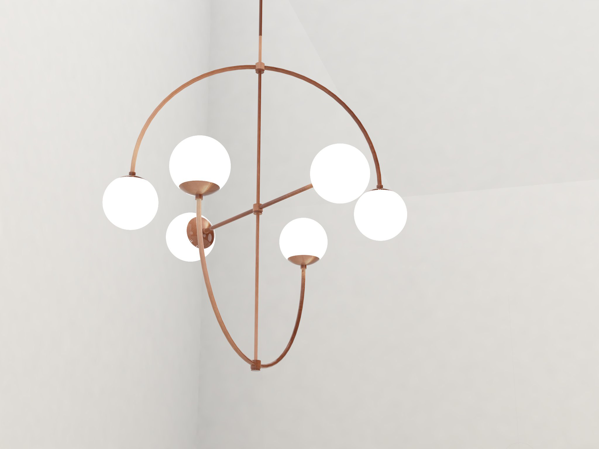 While at Bower I had the opportunity to collaborate on this custom chandelier based off of the existing C Light design