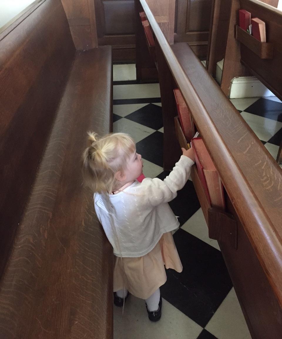 Elizabeth in the chapel.jpg