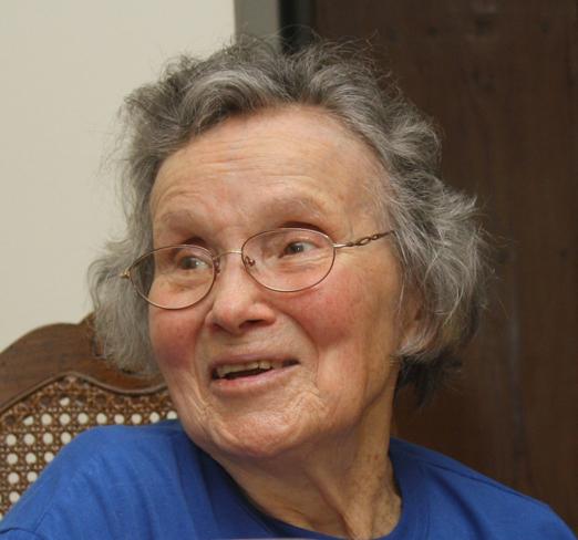 Annette in 2012.