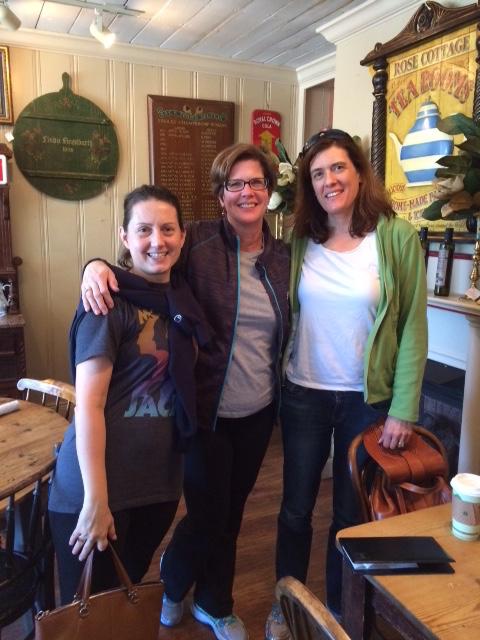 Left to right: Sara Maughan, Sara McKlin, Alison Mallard