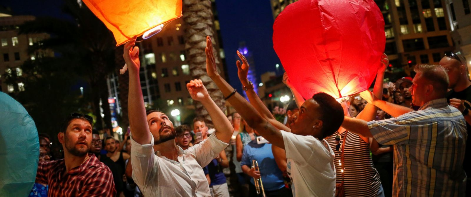 Vigil in downtown Orlando. Photo credit: Adrees Latif/Reuters from abcnews.com
