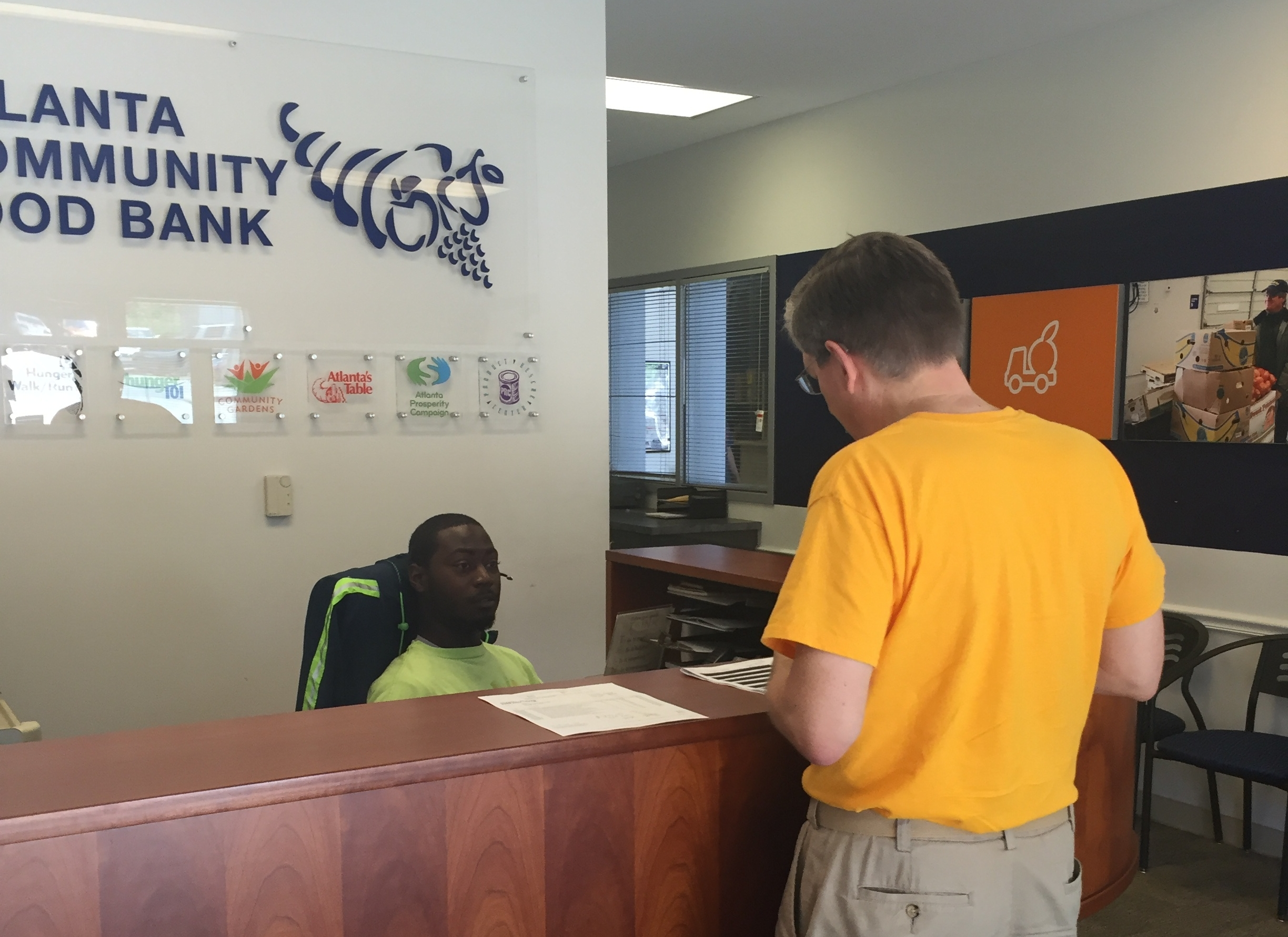 Miles checking in at ACFB.