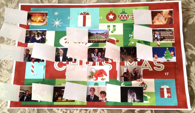 Ian's Advent calendar.