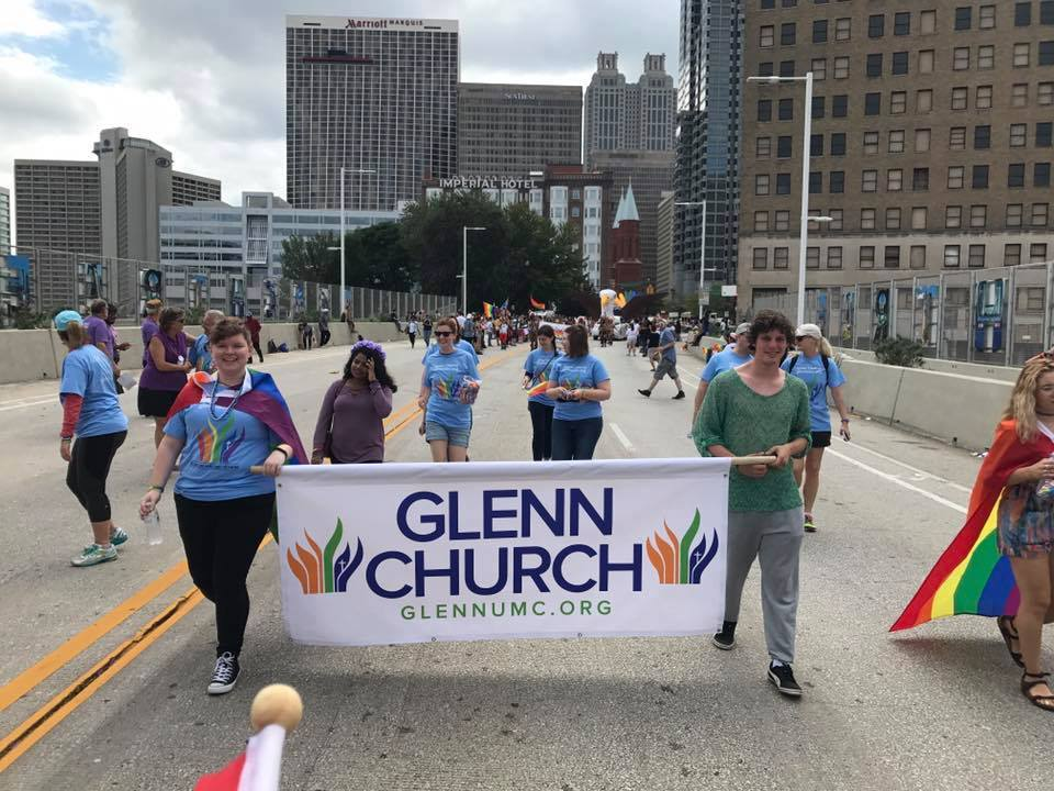 We joined thousands of fellow Atlantans in the Pride Parade to show support for our city's LGBTQ community.
