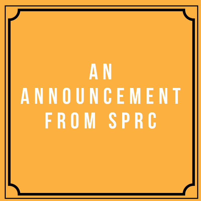 An Announcement from SPRC.png