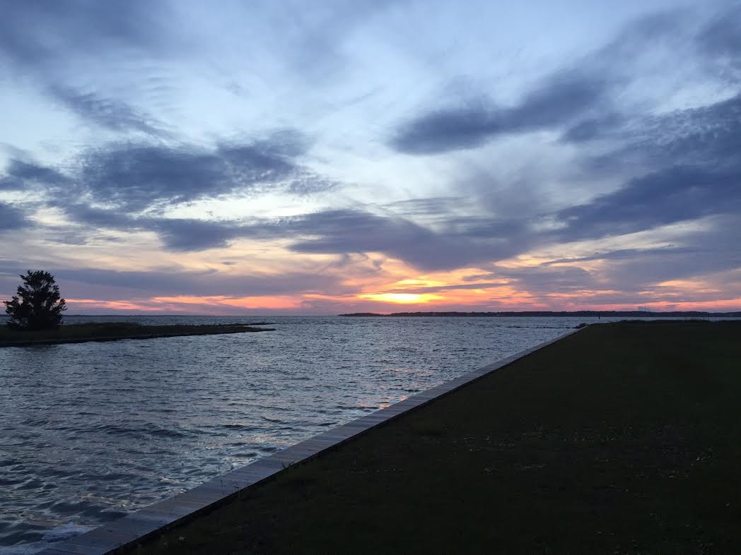 Maxwell Point Harkers island, nc and the back sound