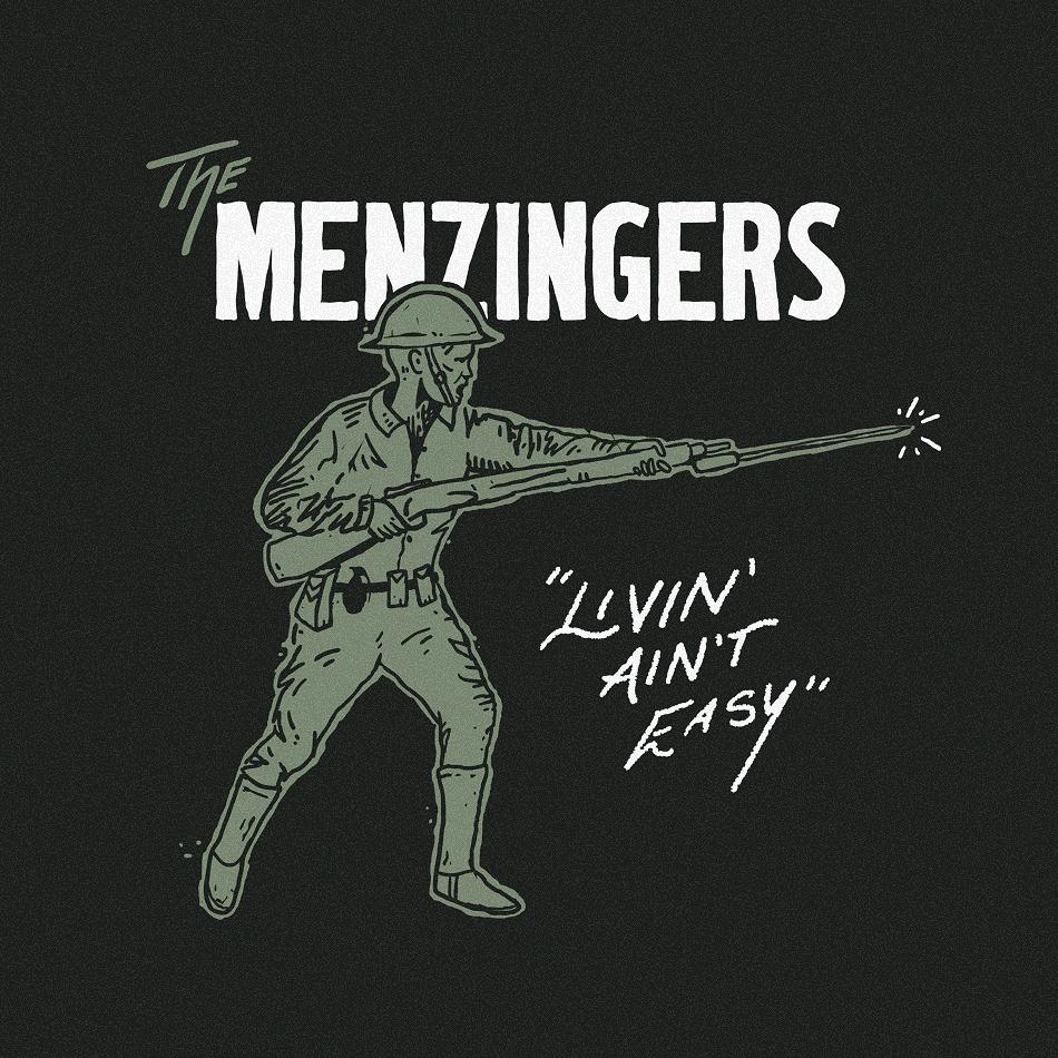 Merch design for The Menzingers