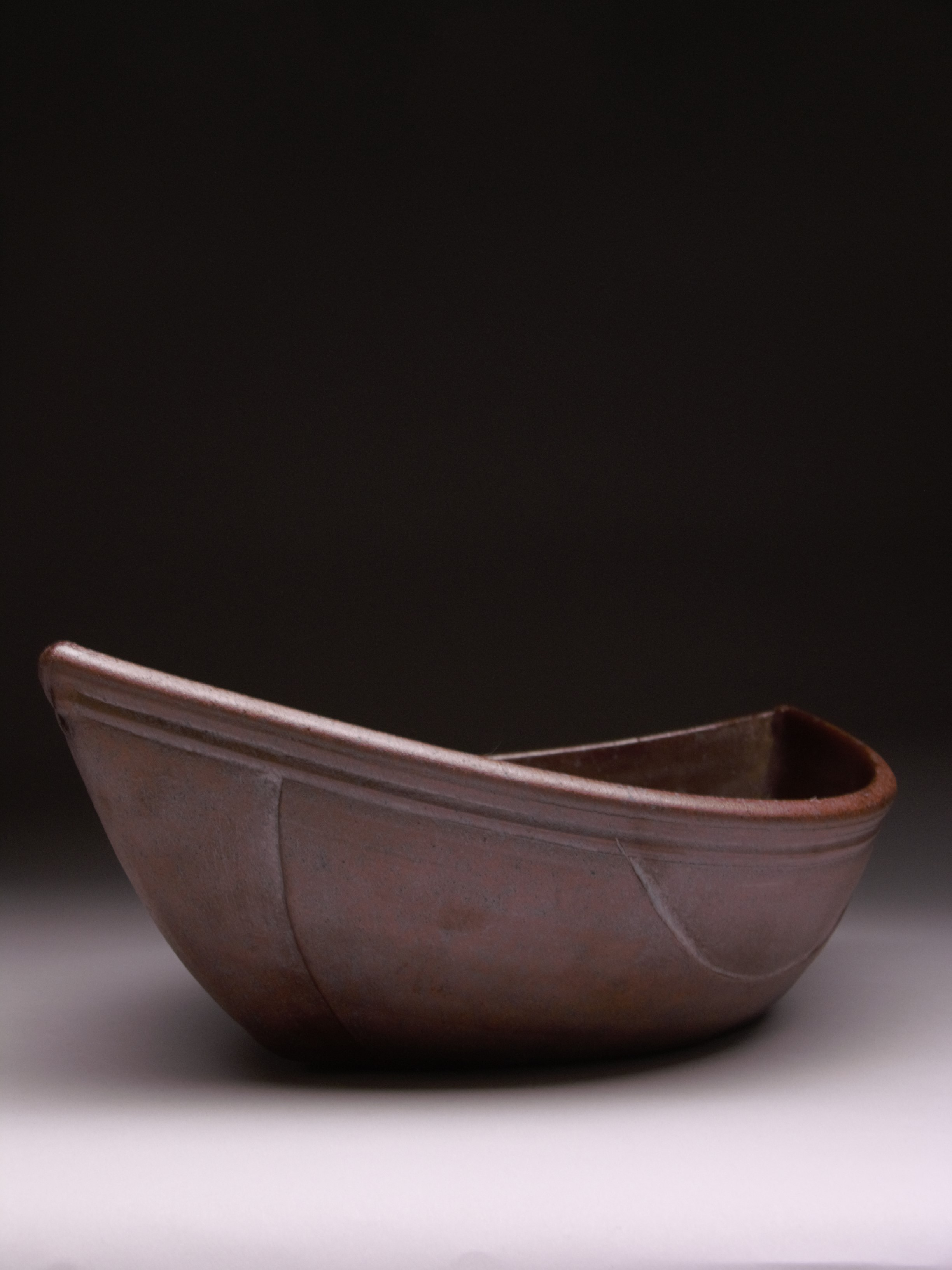 WOODFIRED CERAMIC BOAT 2004