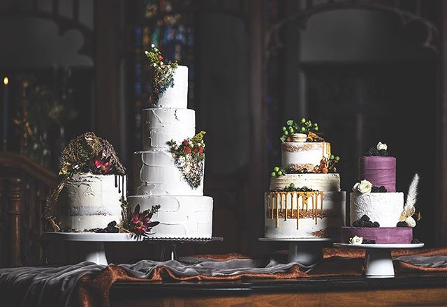 Traditional meets modern✨ These beautiful cakes do just what our venue does- takes a historic tradition and makes it modern and fun🍰 From fruit and flowers to hand-spun sugar-glass candy, these cakes are truly one-of-a-kind, and they truly stand out against our one-of-a-kind stained glass and hand-carved Belgian paneling too😉 .⠀⁠⠀ .⠀⁠⠀ .⠀⁠⠀ .⠀⁠⠀ #stjames1868 #milwaukeeevent #milwaukeevenue #milwaukeeweddings #eventspace #mke #weddingvenue #marriedinmilwaukee #mimfamily #milwaukeeweddingvenues #milwaukeeweddingvendors #dearMKE #entrepreneurlife #marquettecampus #royalwedding