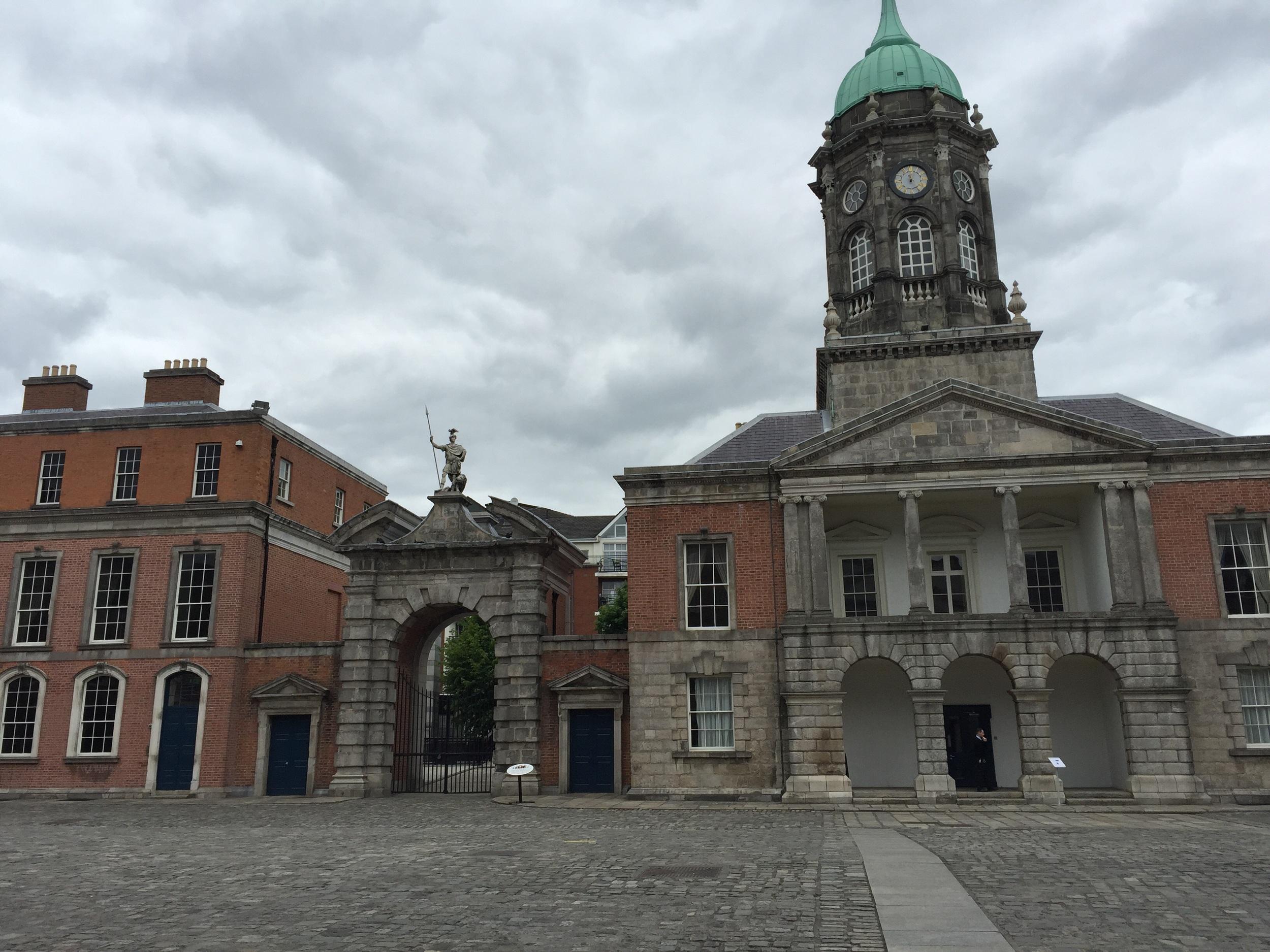 Dublin Castle buildings.