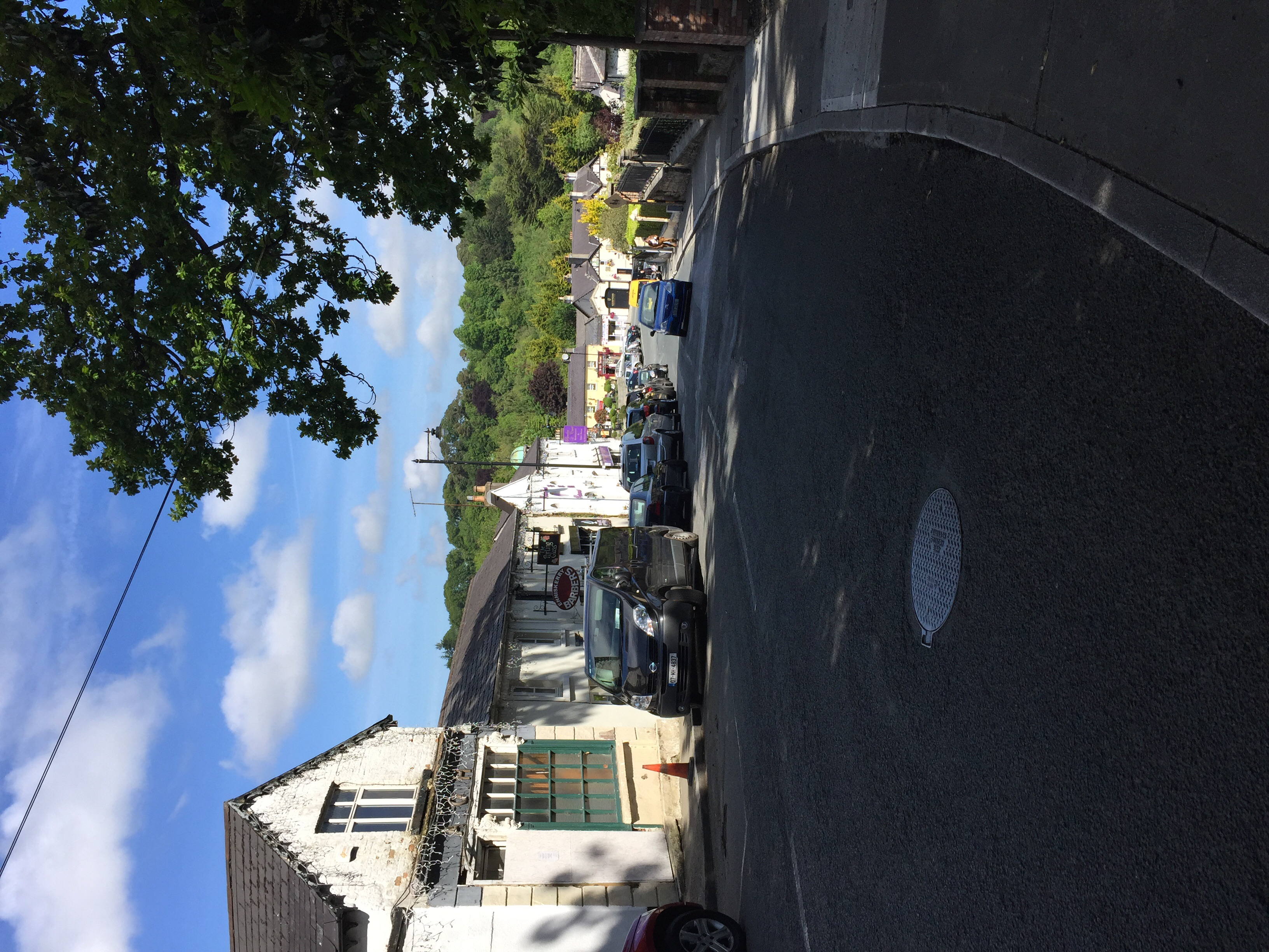 The town of Enniskerry.