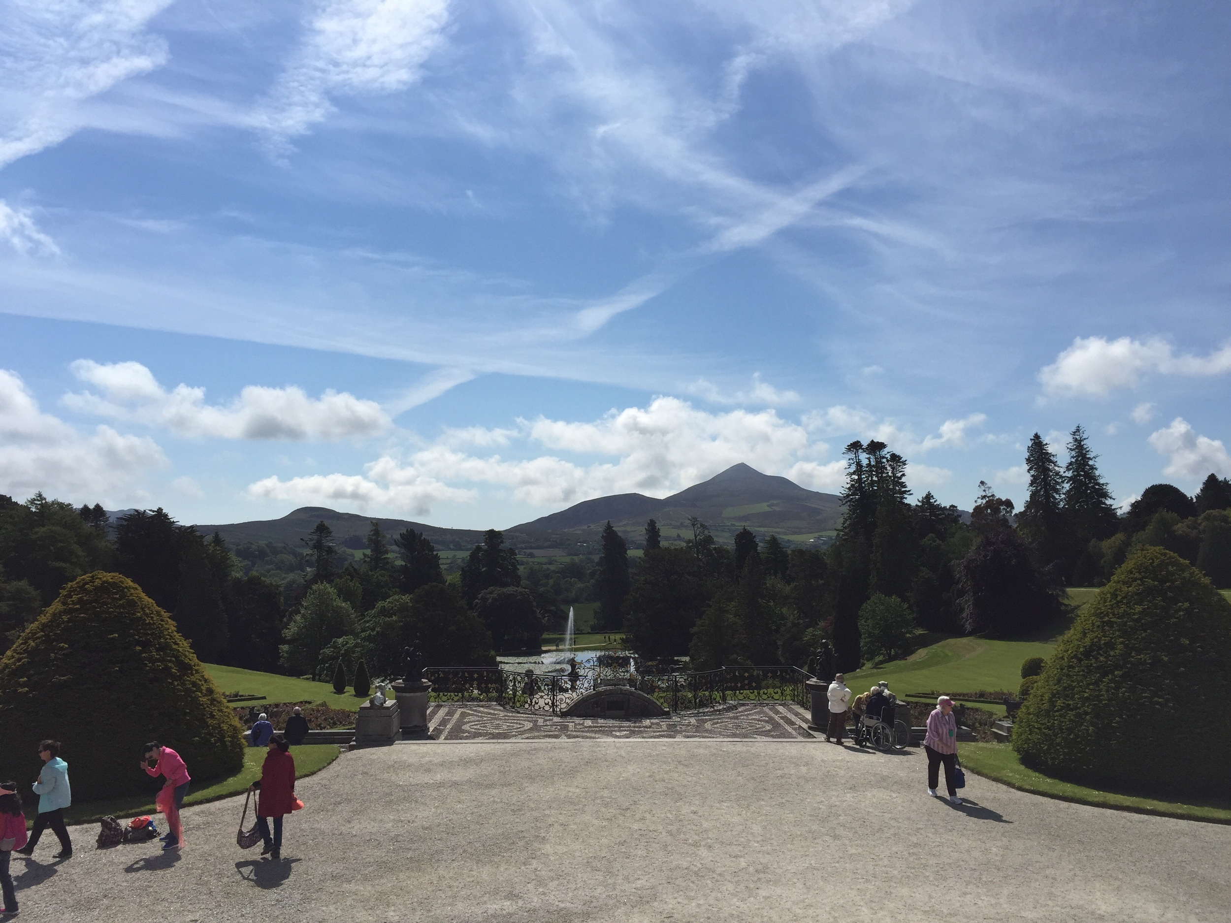 A view Elizabeth Bennett would have been impressed by, had Pride & Prejudice taken place in Ireland...