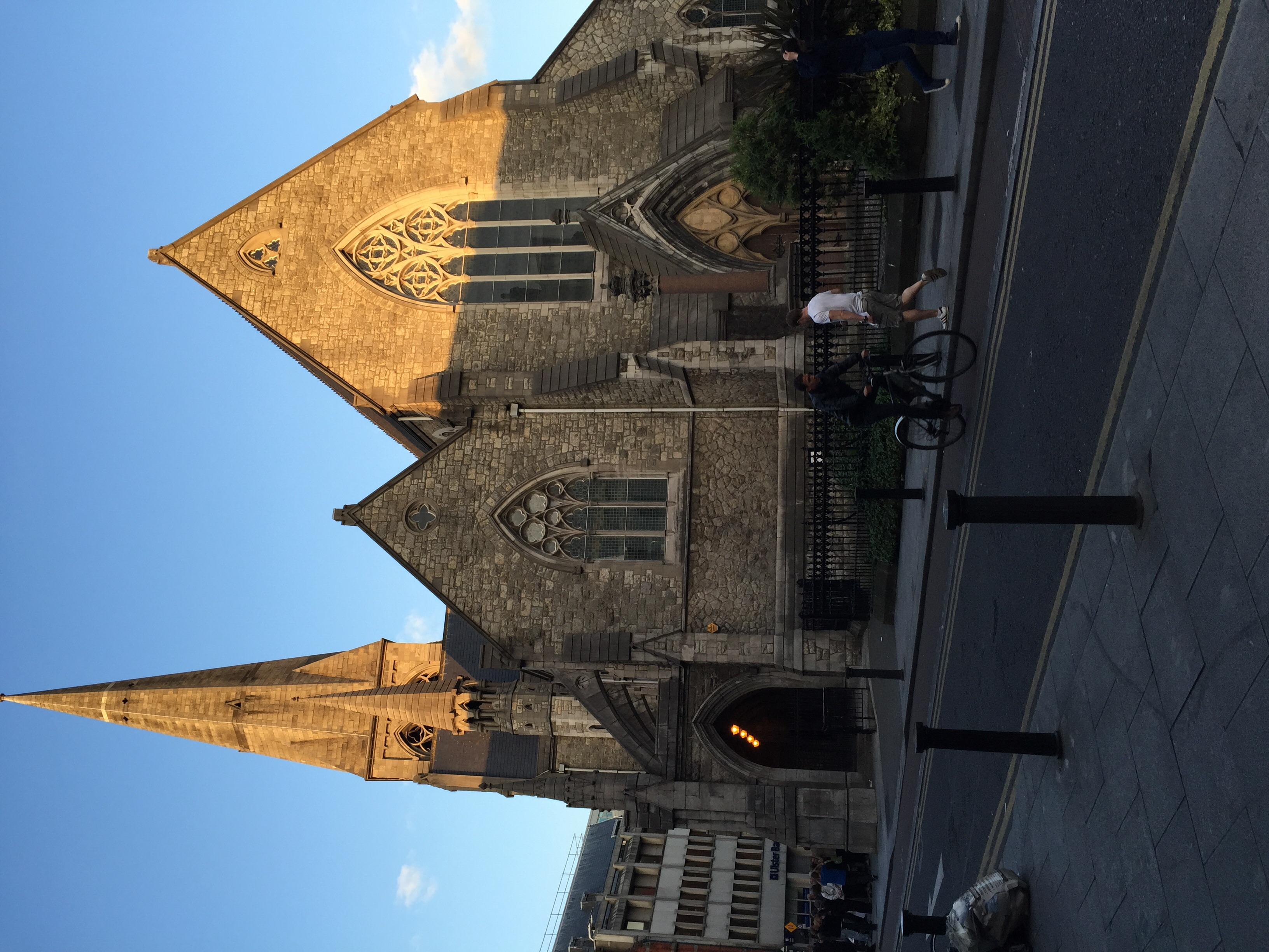 Christ Church in the evening...
