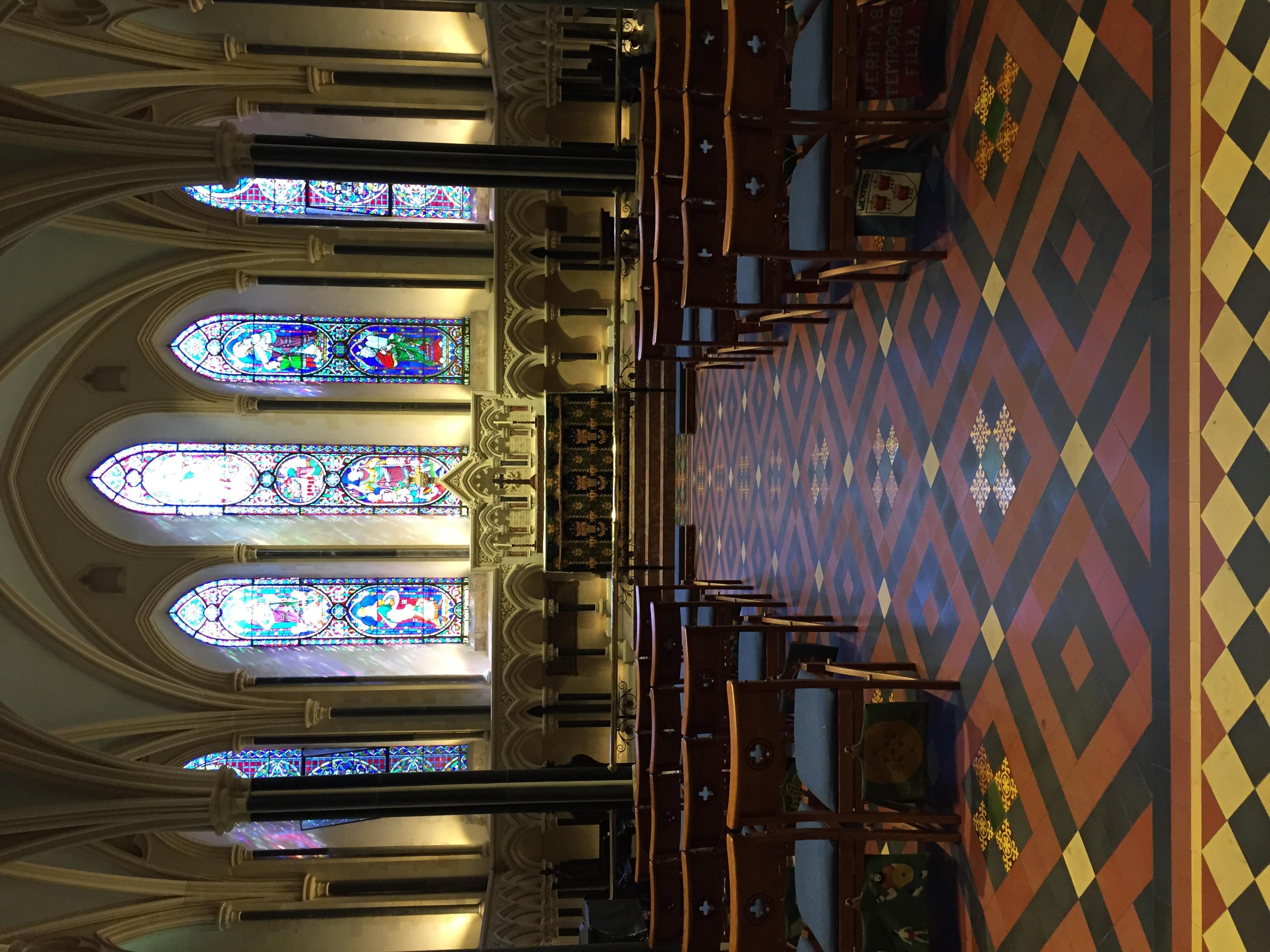 Ladies Chapel, behind the alter.