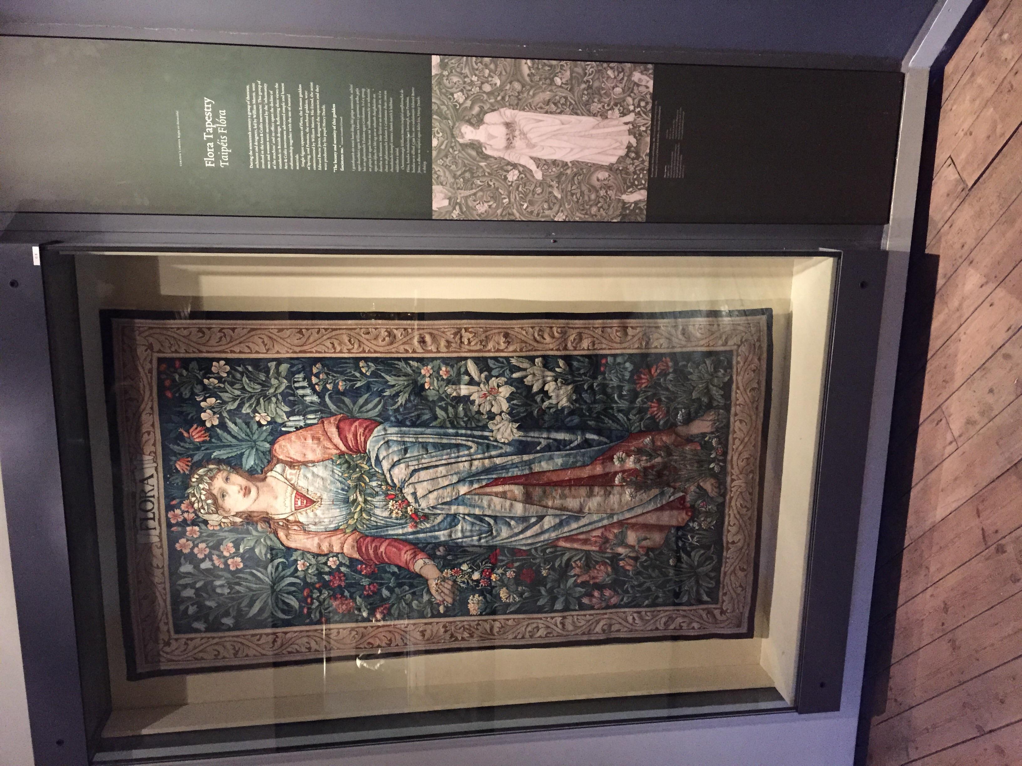 William Morris tapestry...