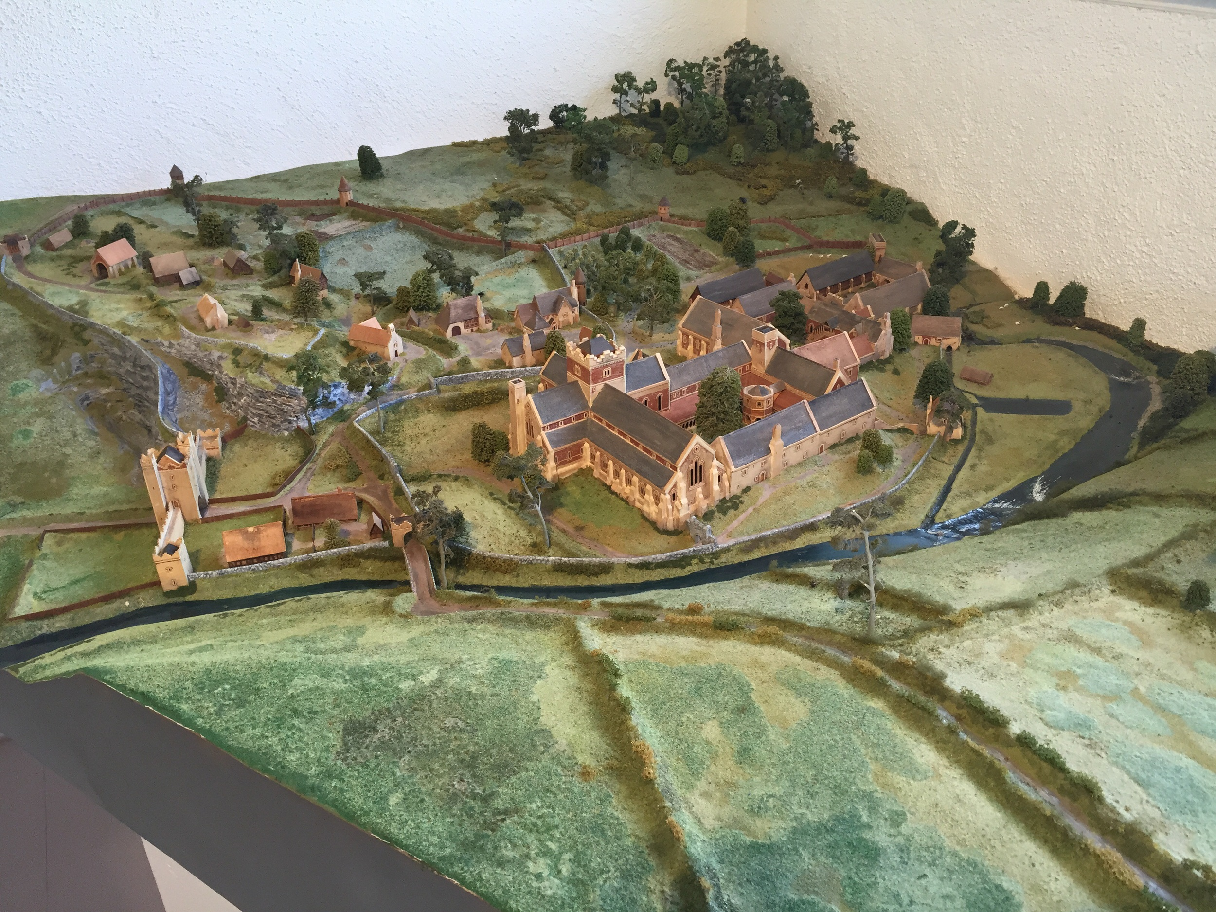 Model of what it used to look like...