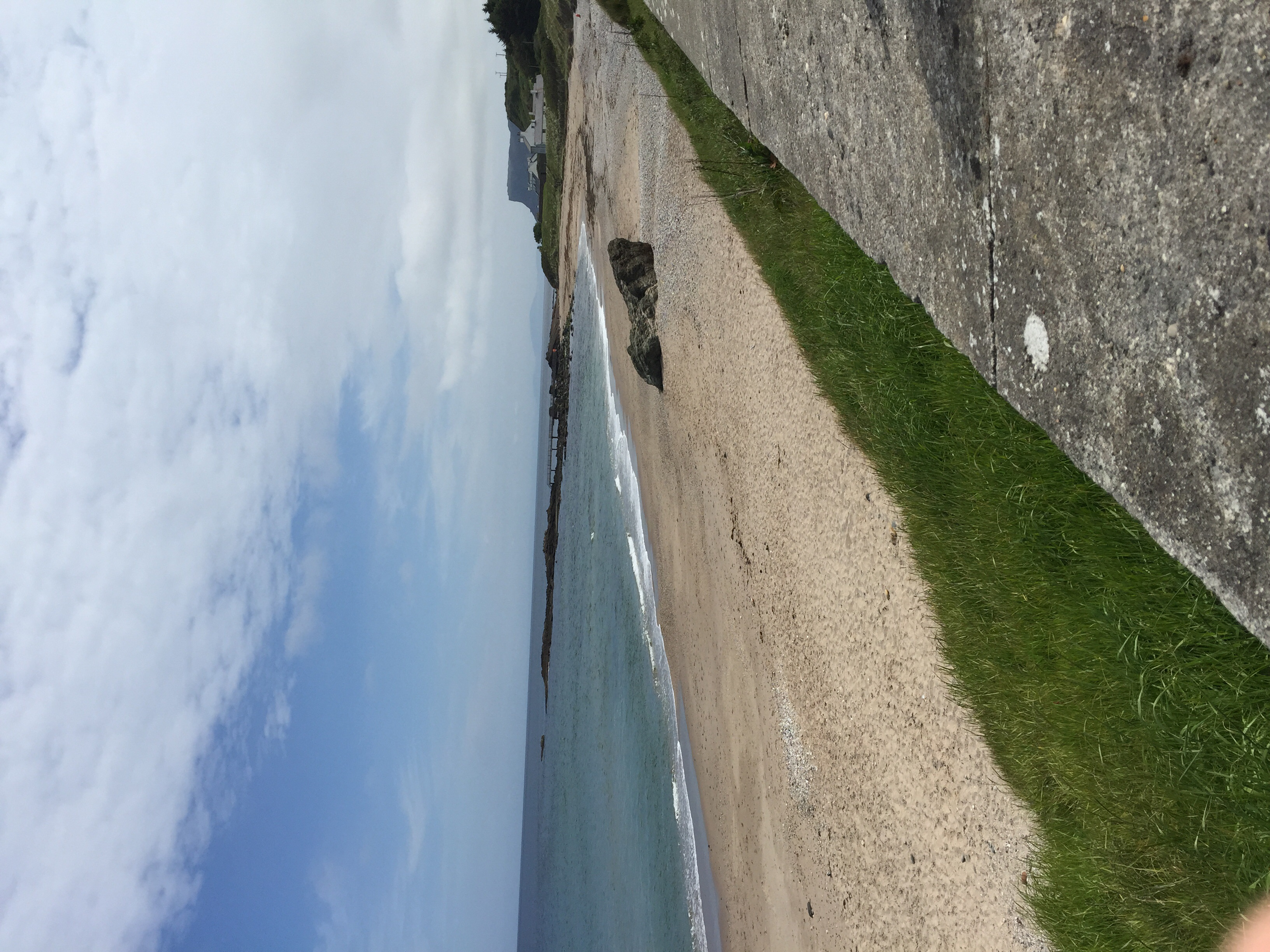 Ballycastle coast, where Paddy's family has a caravan(trailer to us Americans).