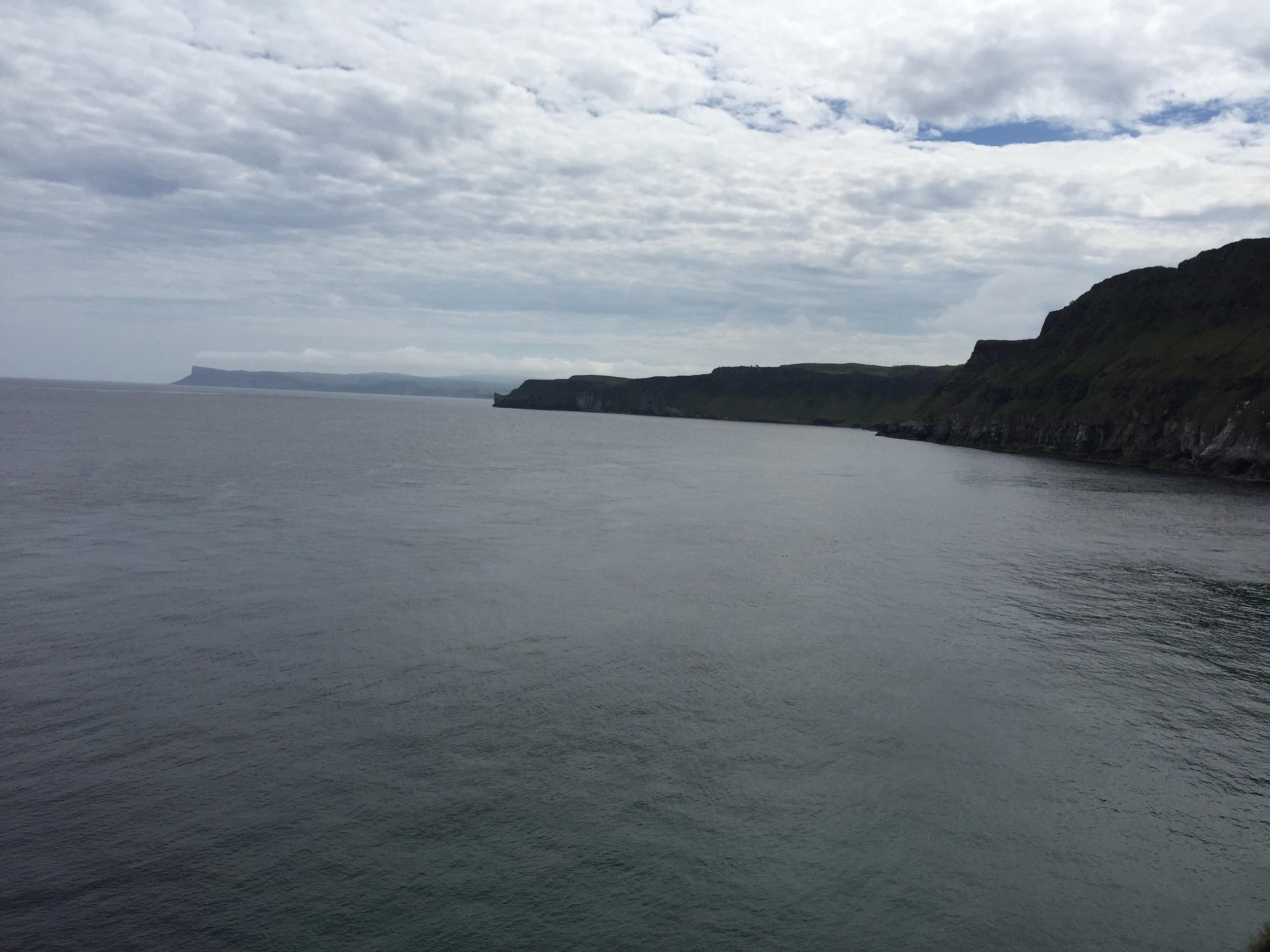 Beautiful views along the cliff walk...