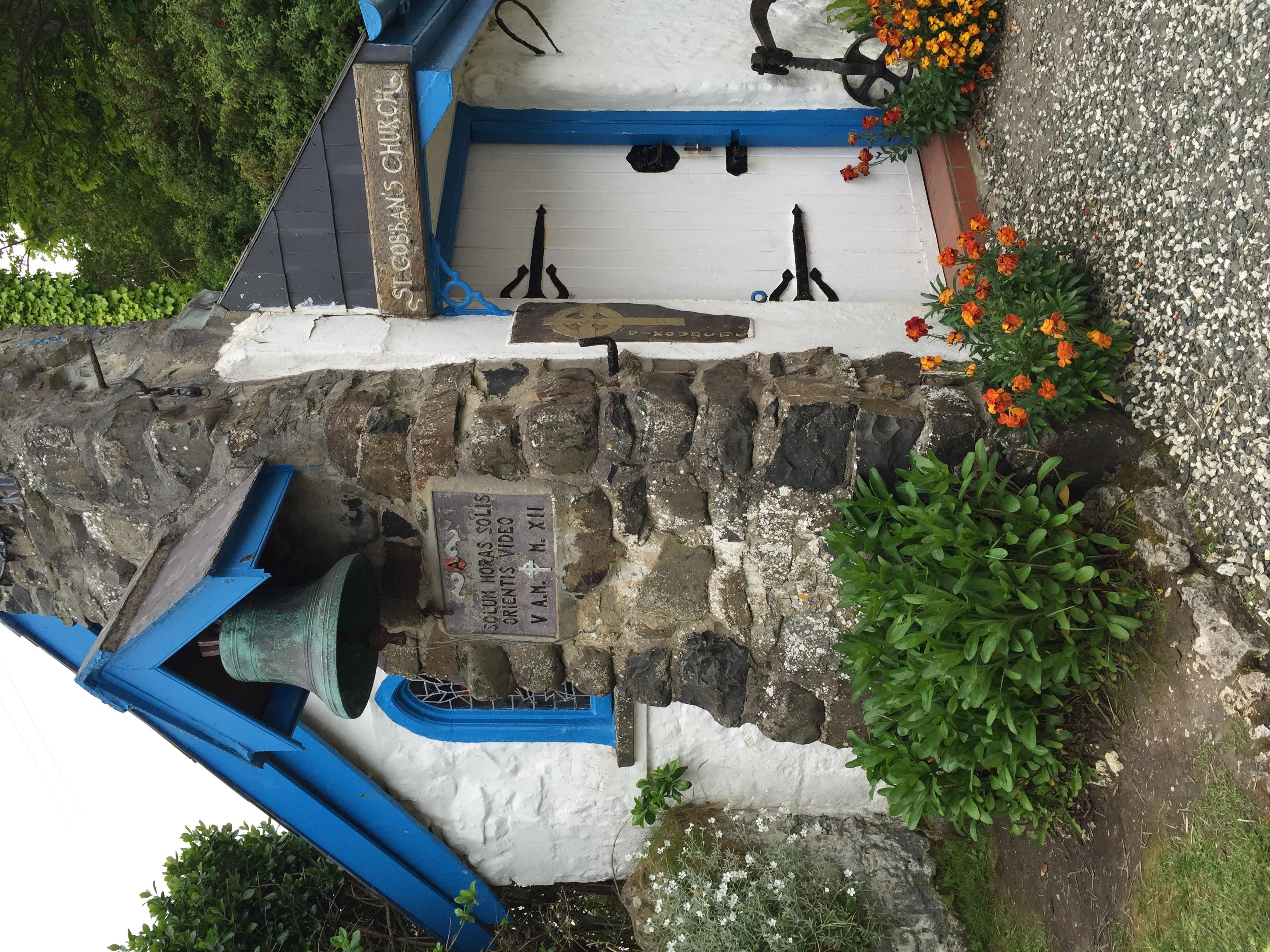 Smallest church in Ireland.