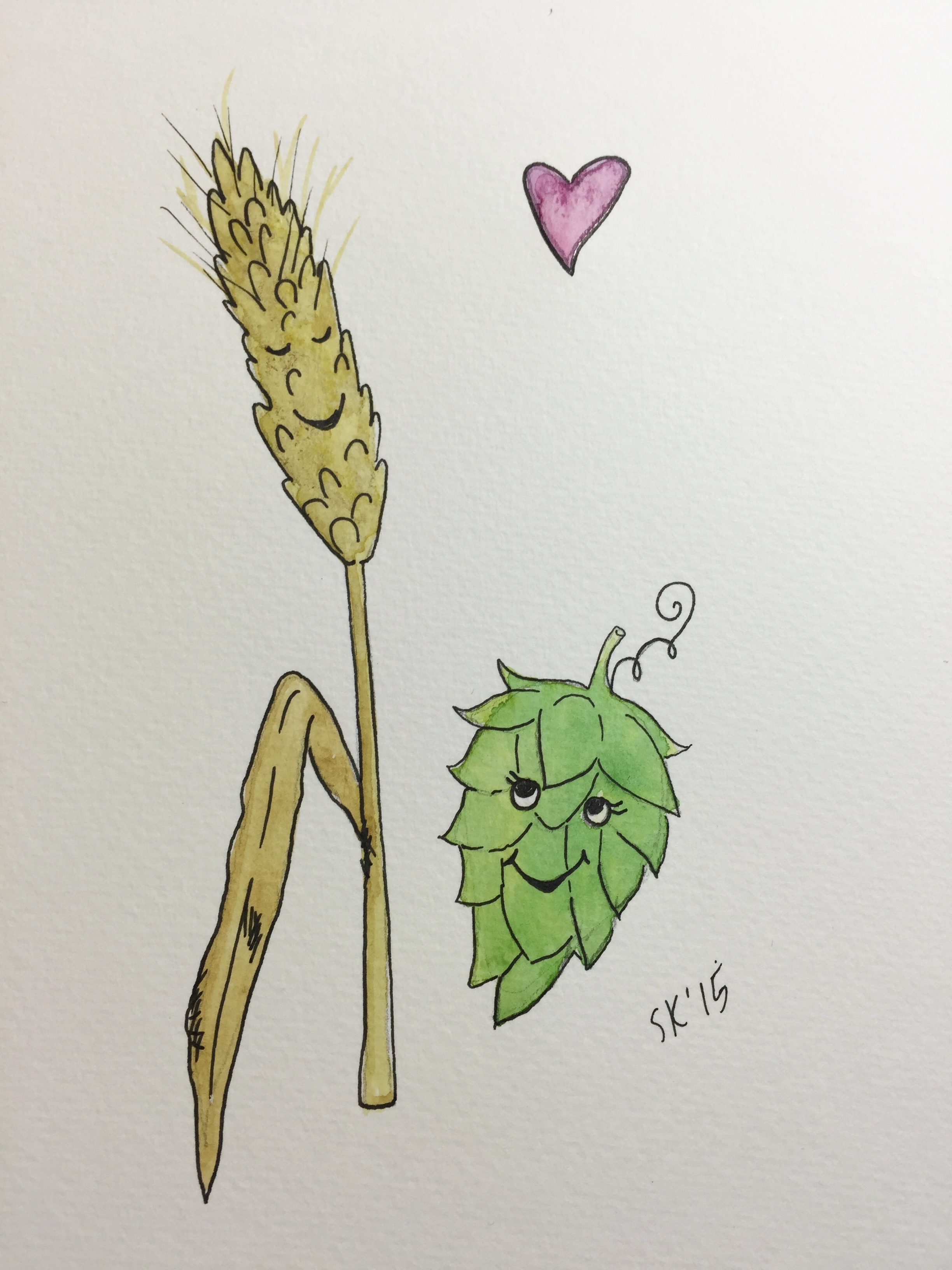 We Go Together Like Barley and Hops
