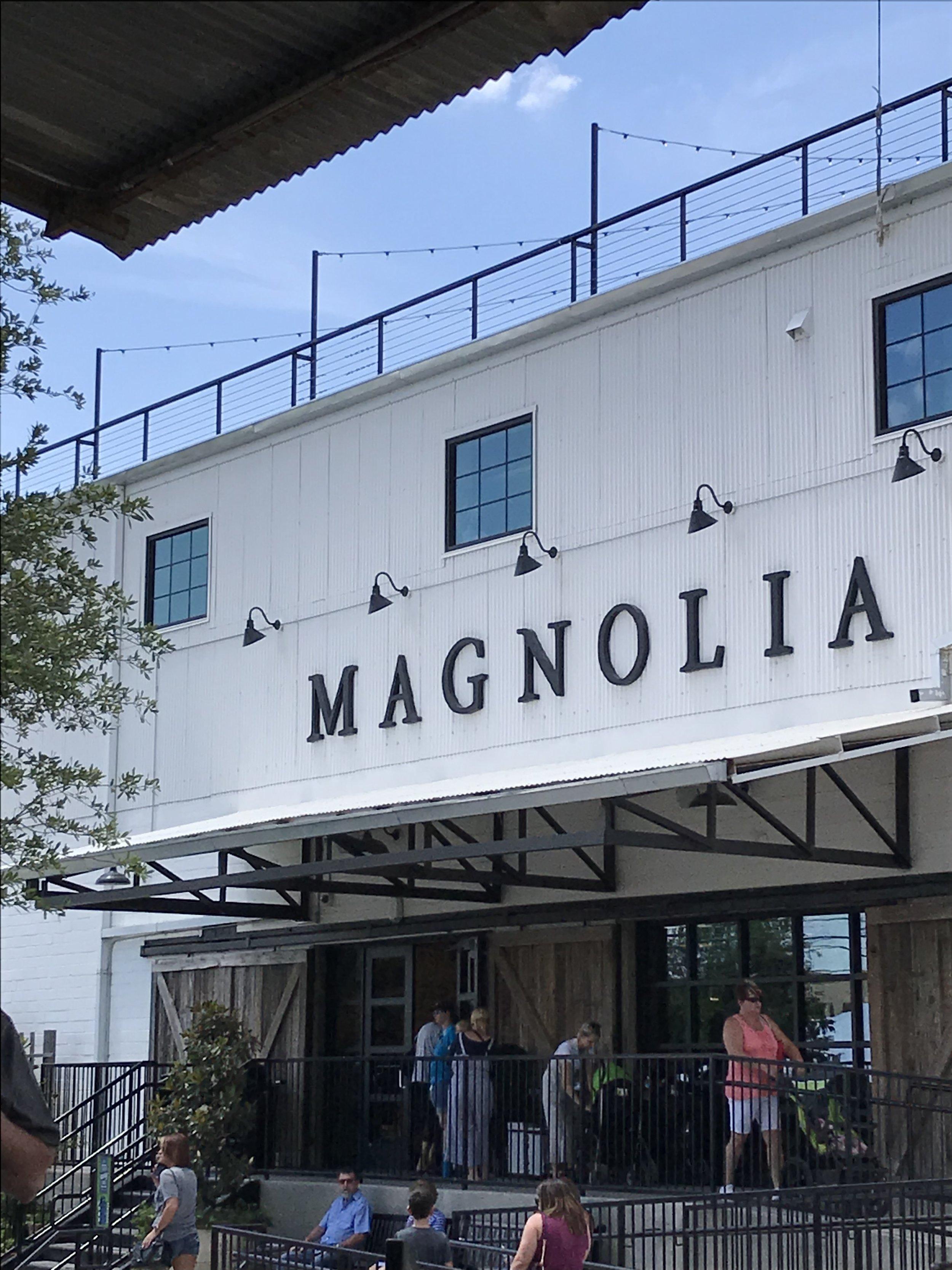 The actual Magnolia Market, the farm house style lover's heaven.