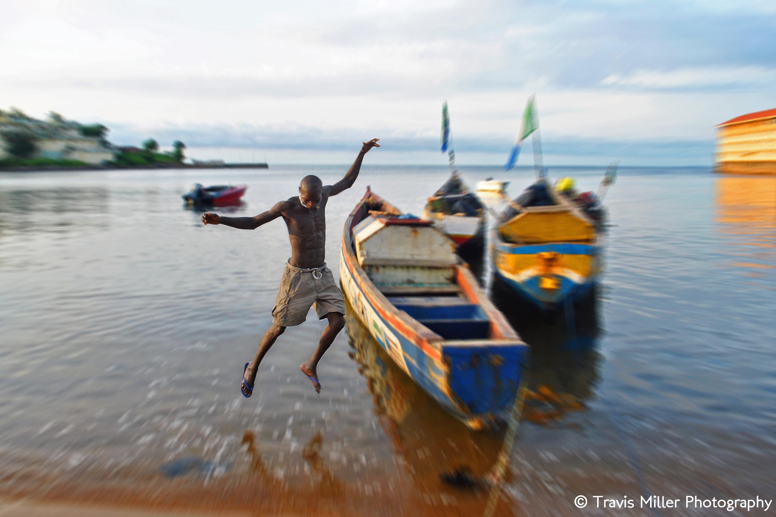 Jumping Ship    Freetown, Sierra Leone