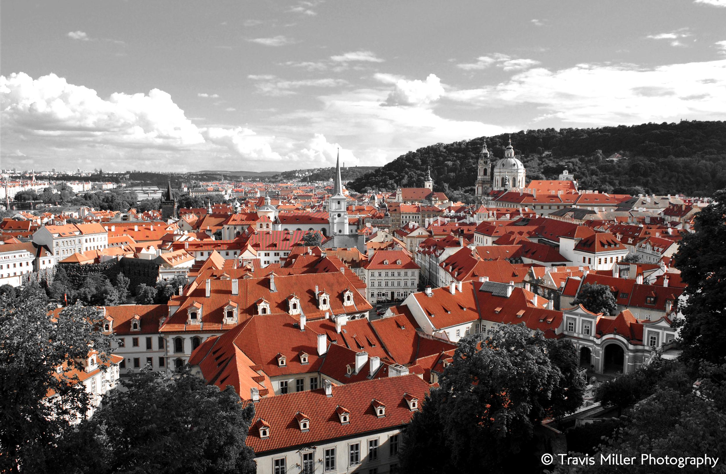 A Touch of Red /  Prague, Czech Republic