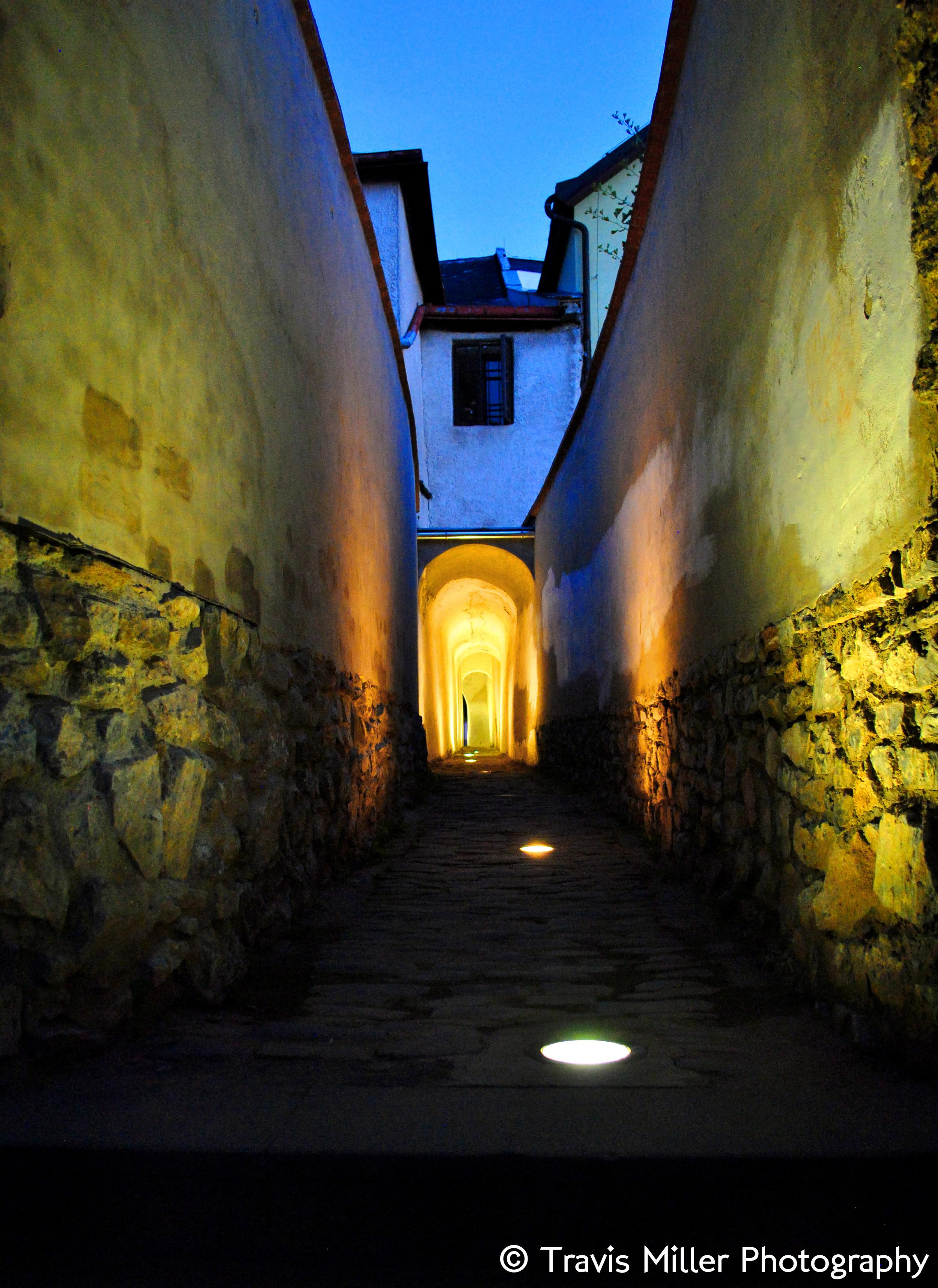 Tunneling into Presov /   Presov, Czech Republic