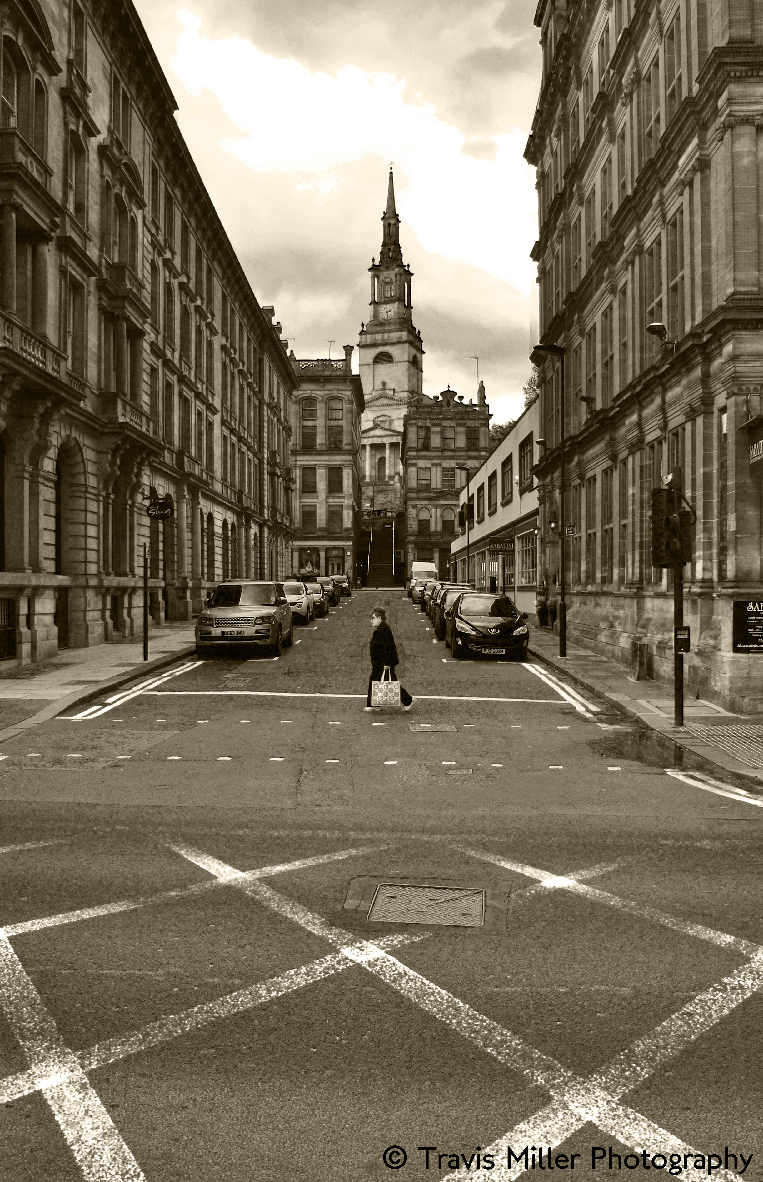 Crossing /  Newcastle, England