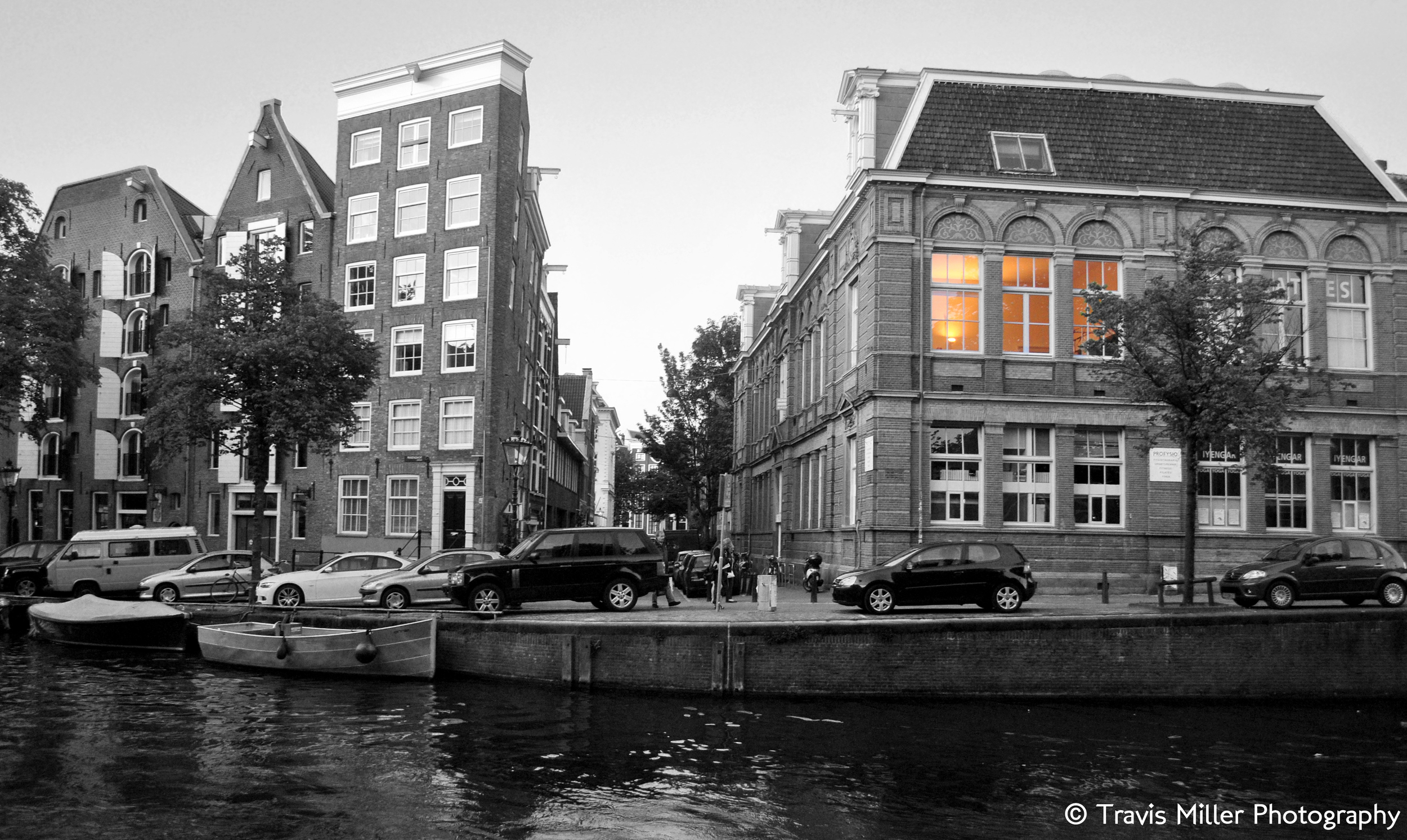 Evening Approaches /  Amsterdam, The Netherlands