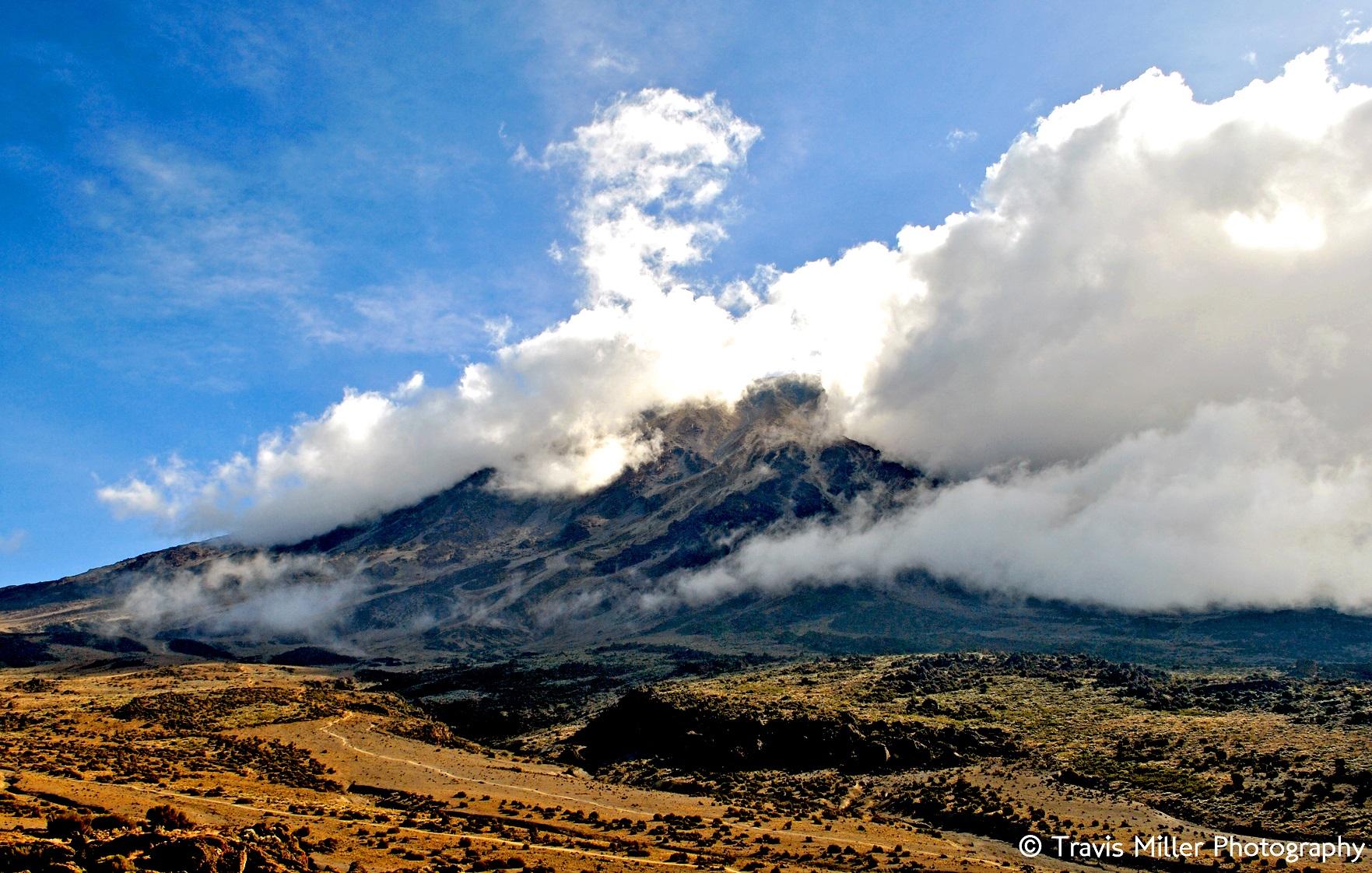 Engulfed /  Mount Kilimanjaro, Tanzania