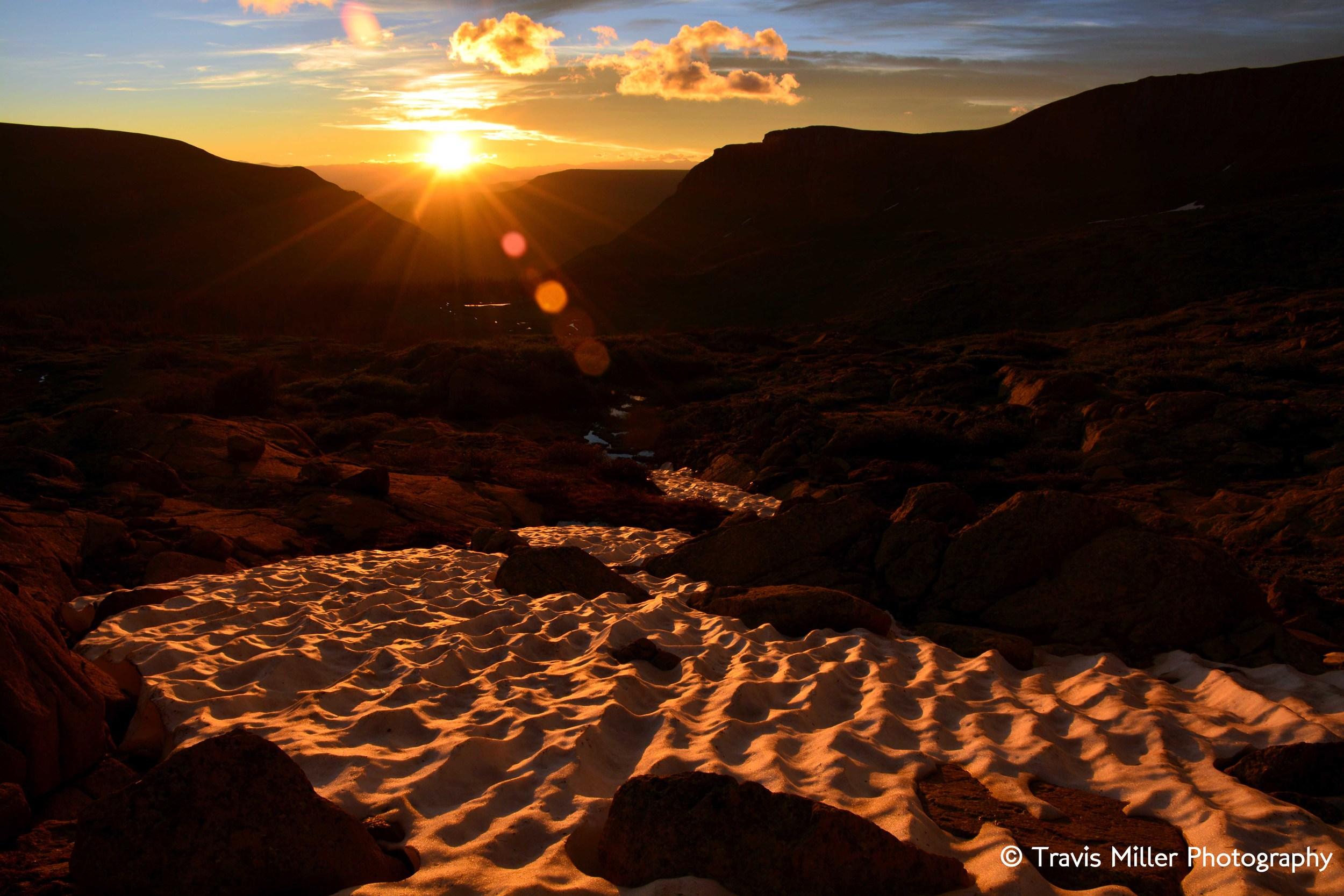 Sunrise at 12,500 /     La Garita Wilderness Area, CO