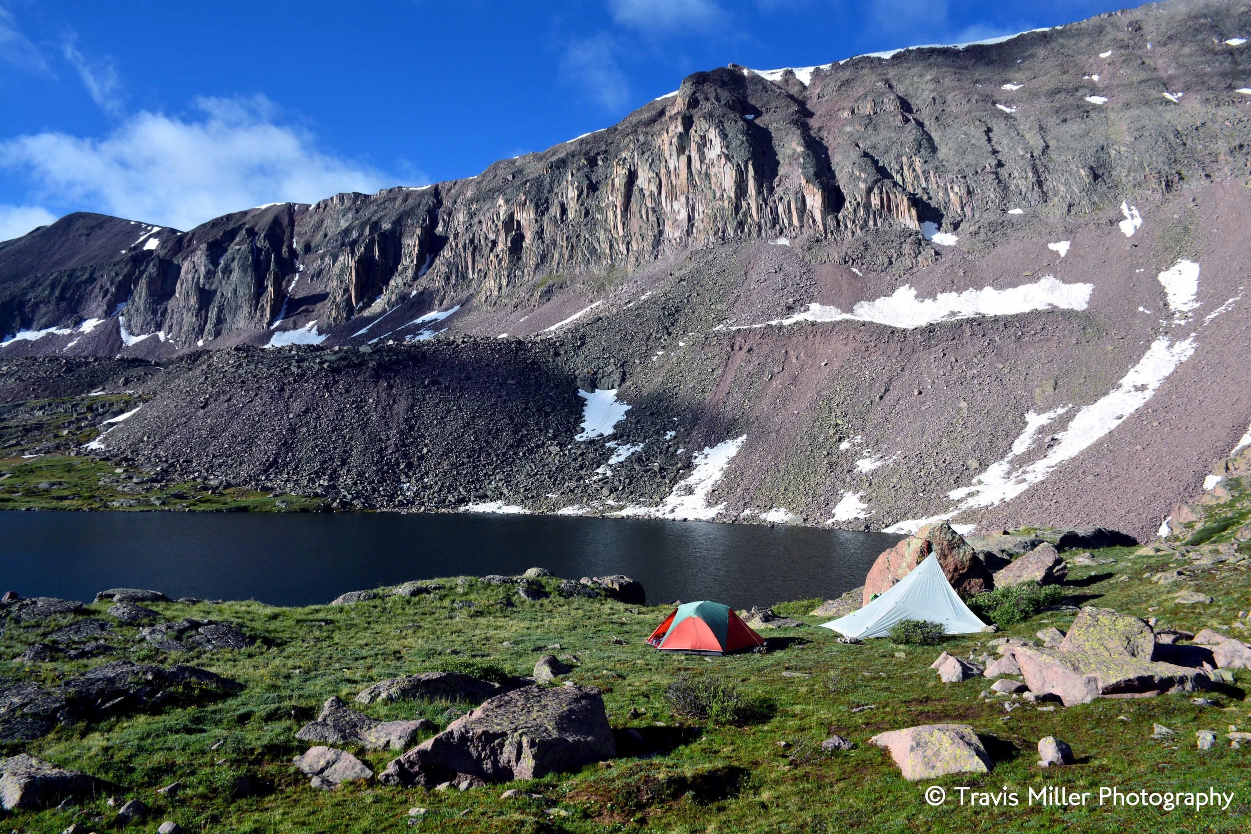 Camp /     La Garita Wilderness Area, CO