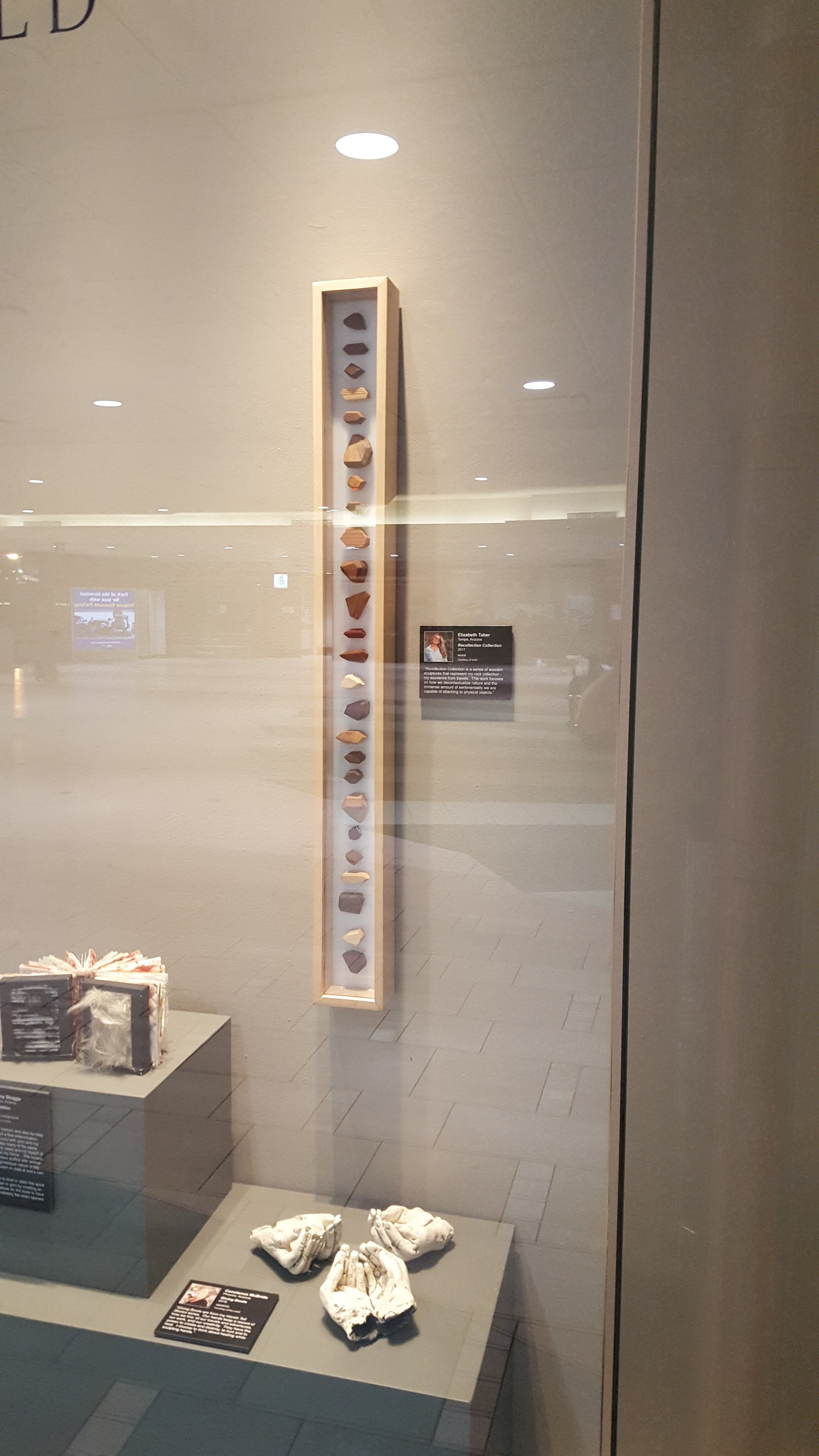 On display in the Phoenix Sky Harbor Airport in Terminal 4, in the Phoenix Sky Harbor Airport Museum.