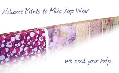 Fabrics from Mika Yoga Wear