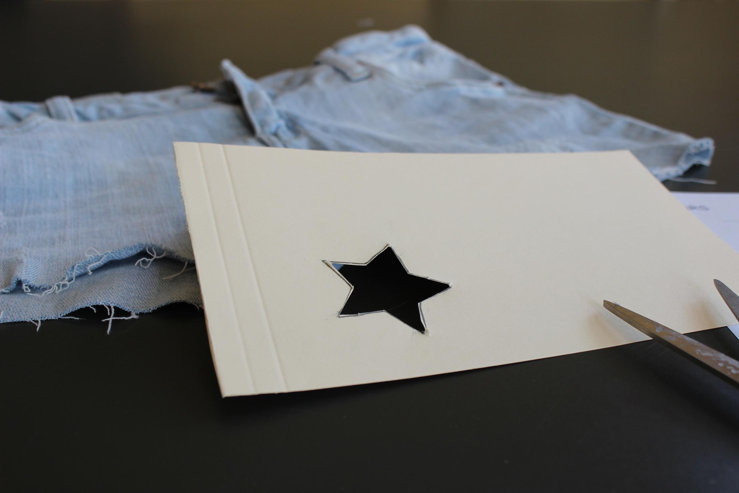 Cut the star.