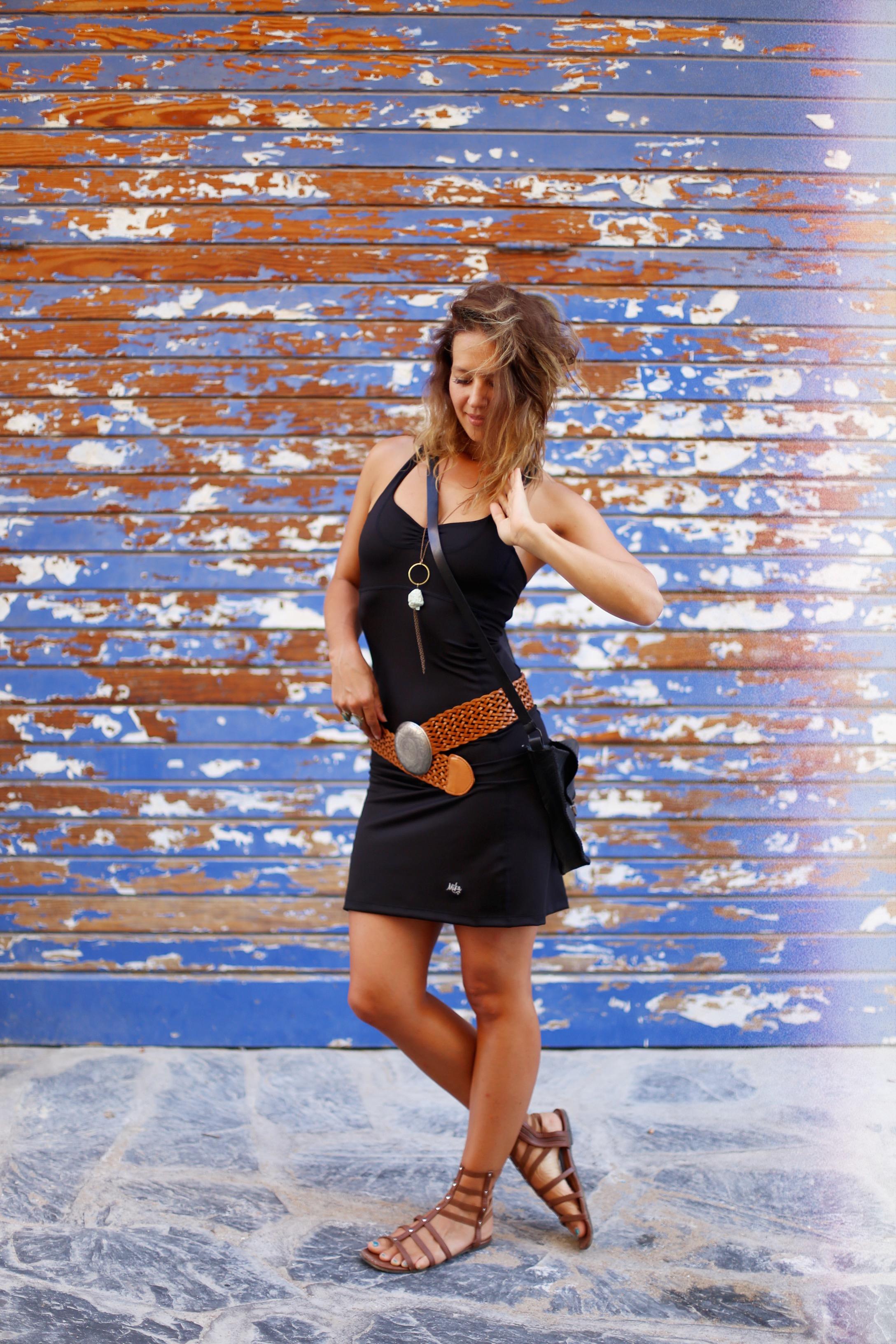Luisa Dress + Spanish Belt